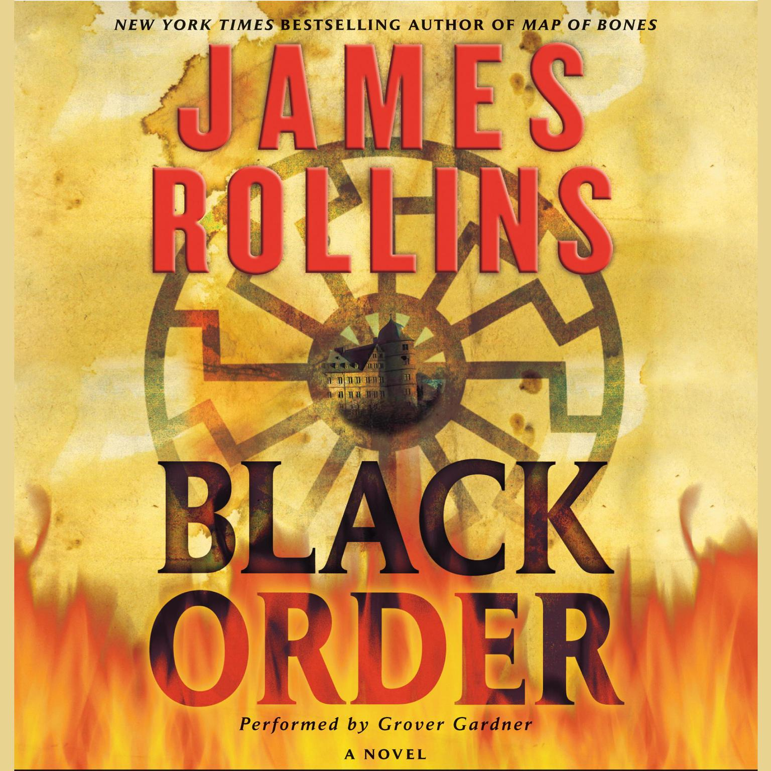 Printable Black Order: A Sigma Force Novel Audiobook Cover Art
