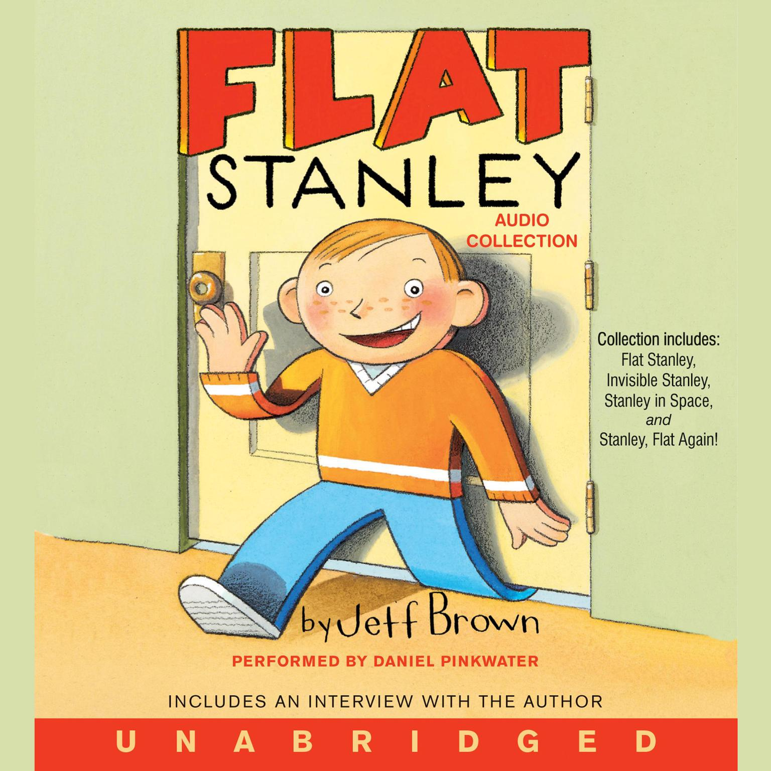 Printable Flat Stanley Audio Collection Audiobook Cover Art
