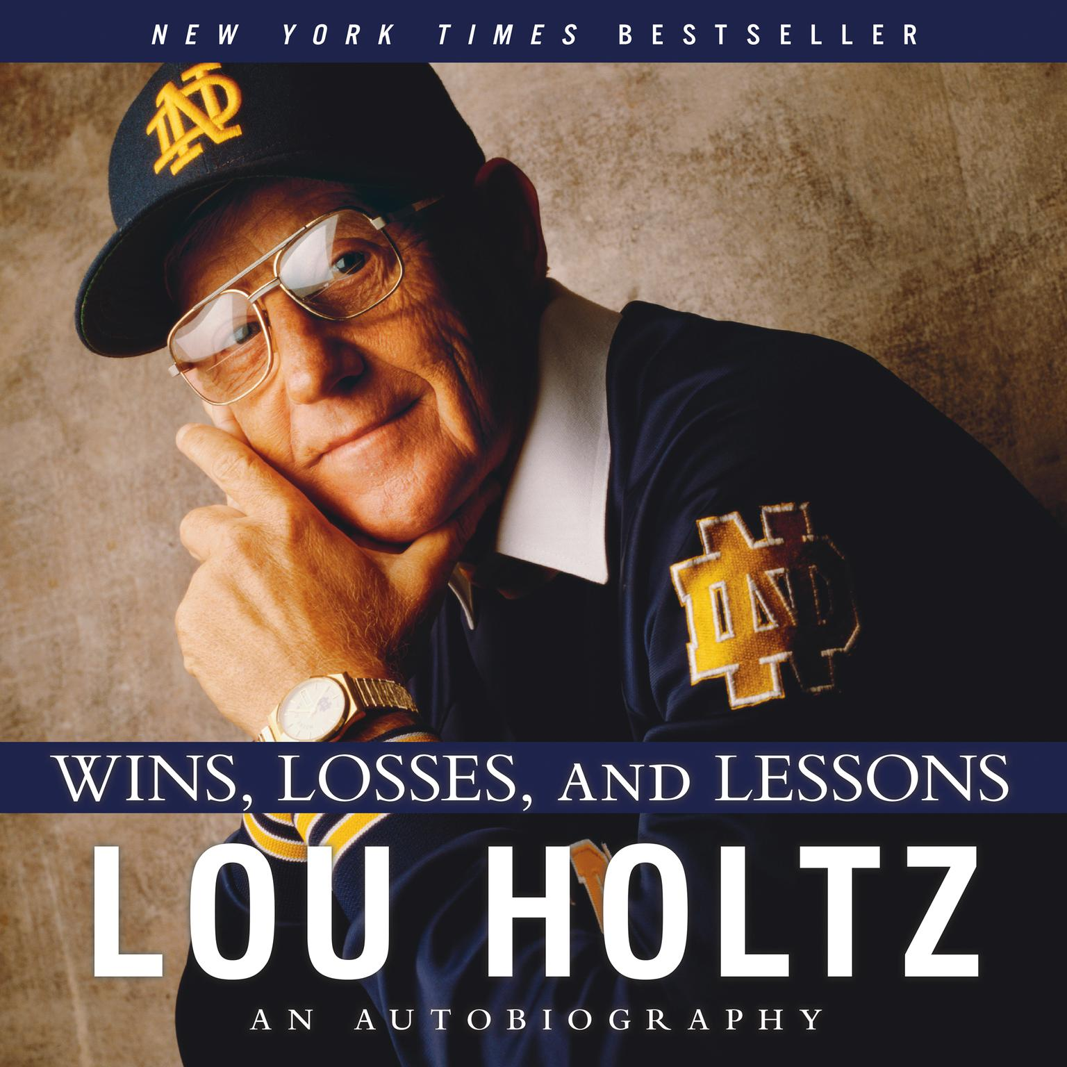 Printable Wins, Losses, and Lessons: An Autobiography Audiobook Cover Art