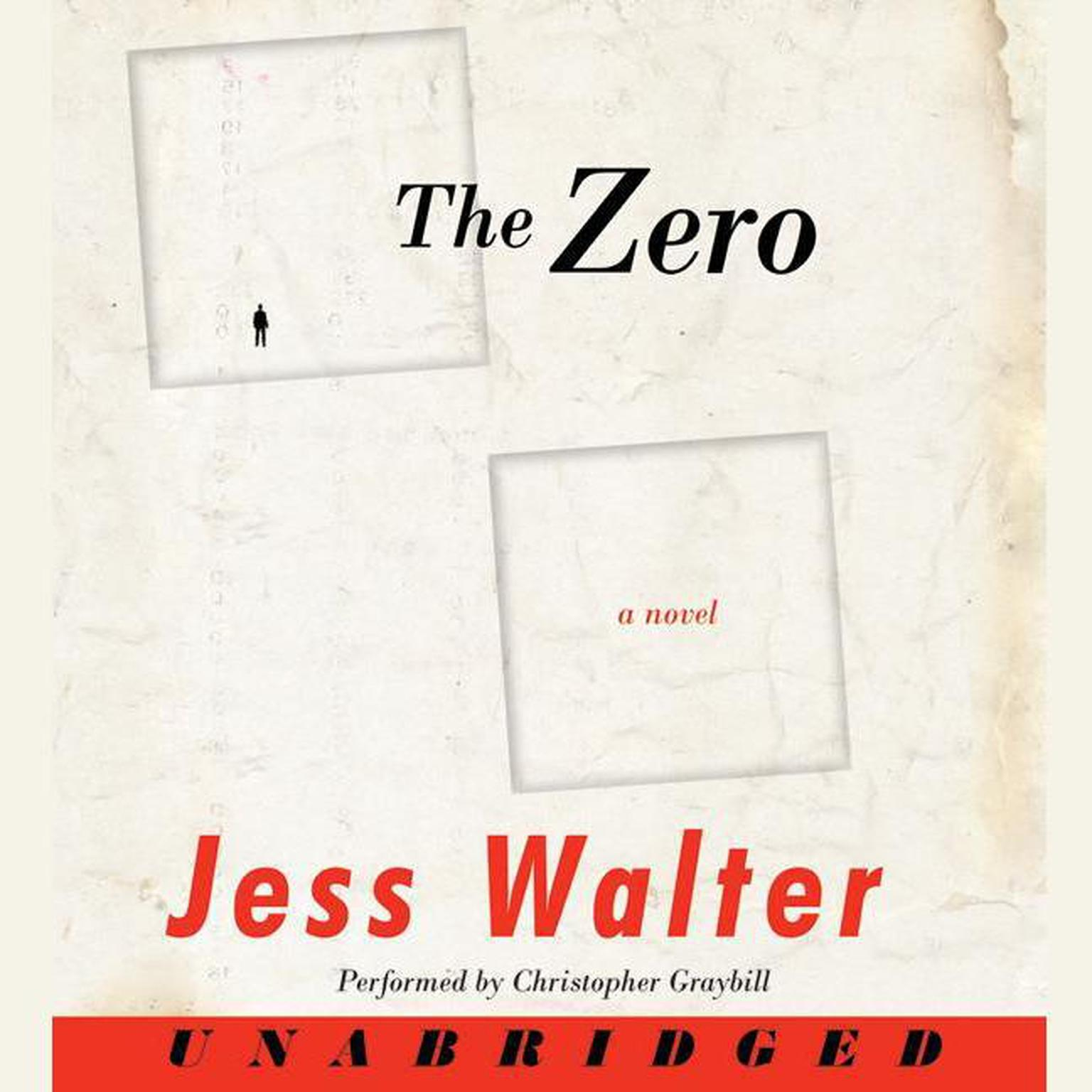 Printable The Zero: A Novel Audiobook Cover Art