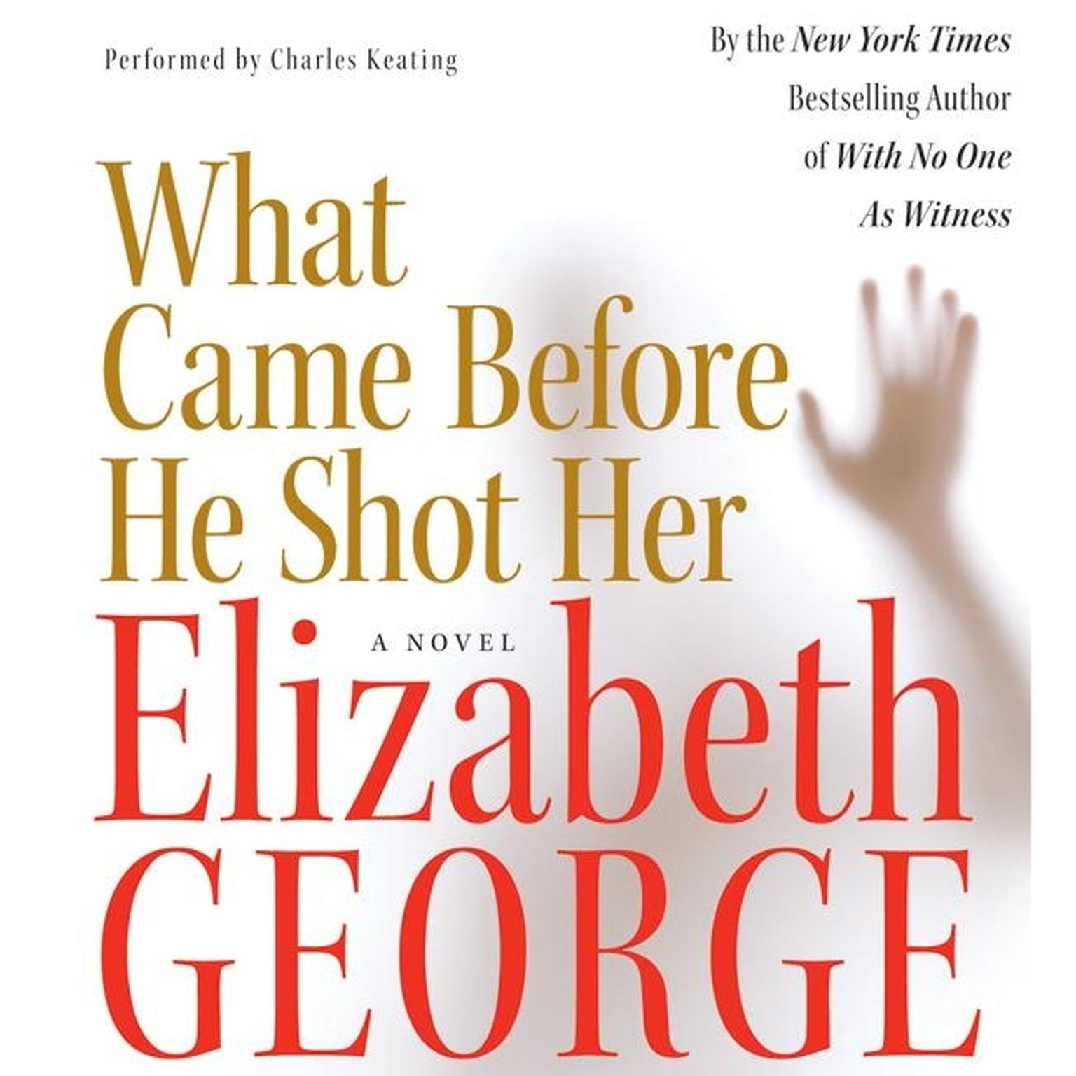 Printable What Came Before He Shot Her Audiobook Cover Art