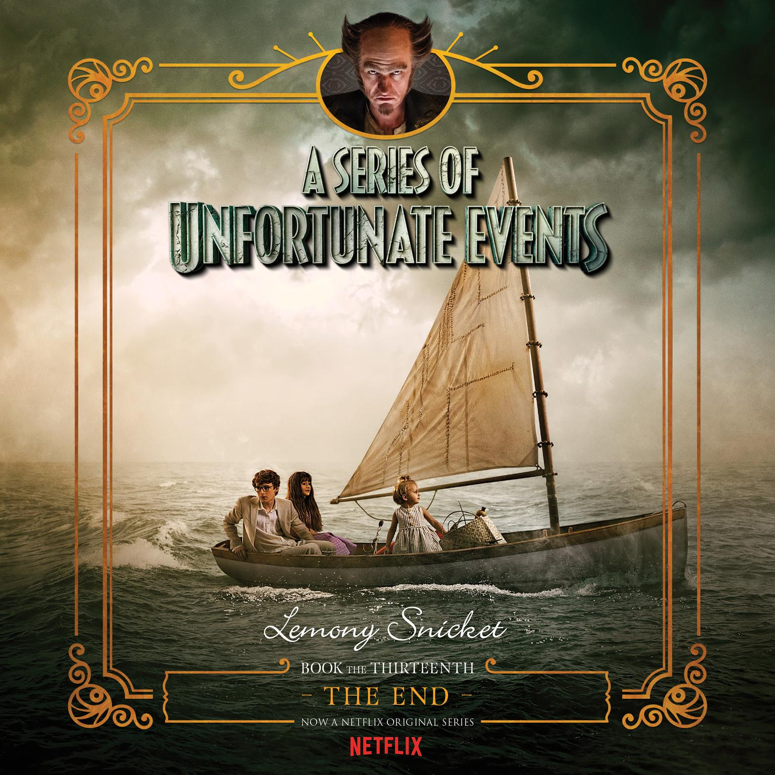 Printable A Series of Unfortunate Events #13: The End Audiobook Cover Art