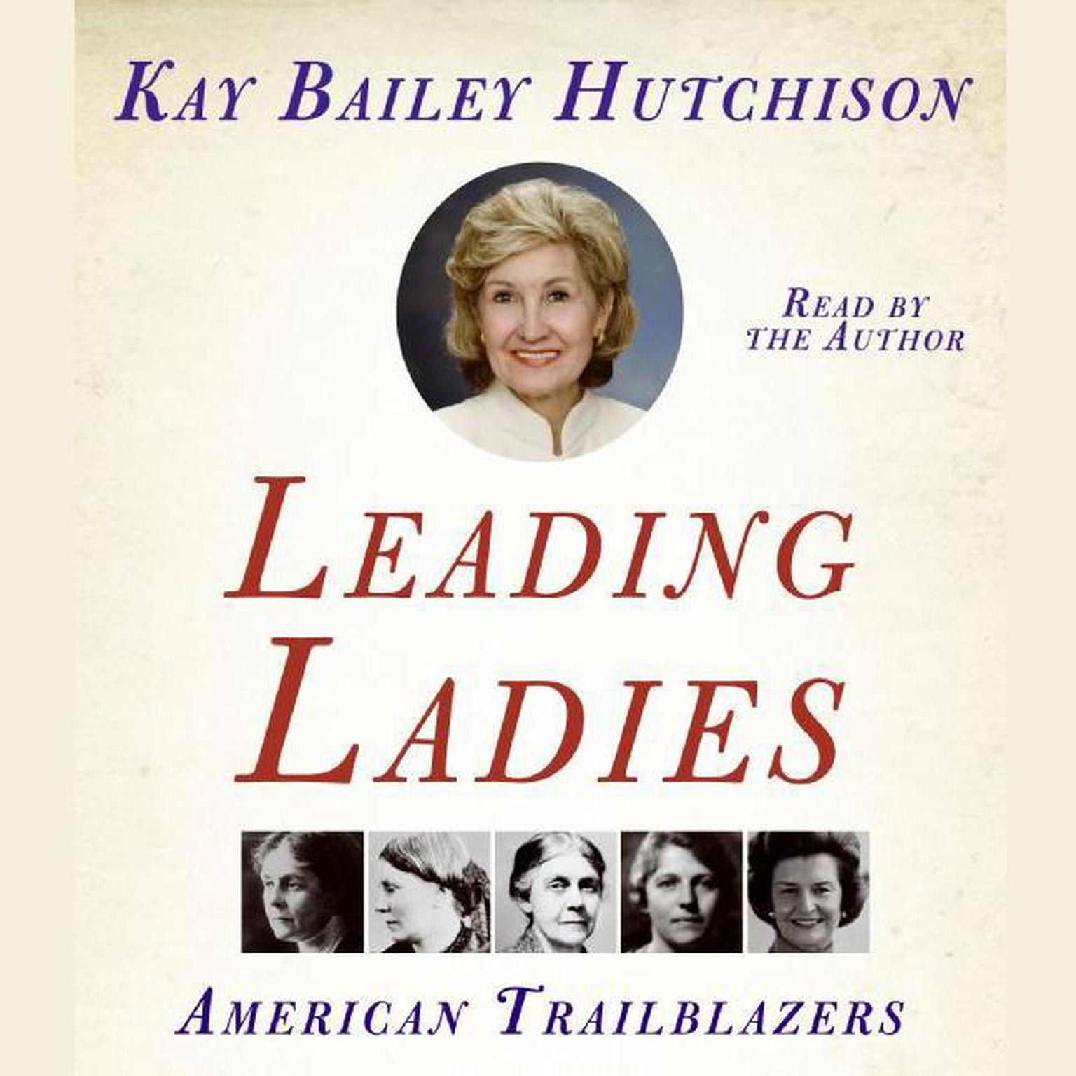 Printable Leading Ladies: American Trailblazers Audiobook Cover Art