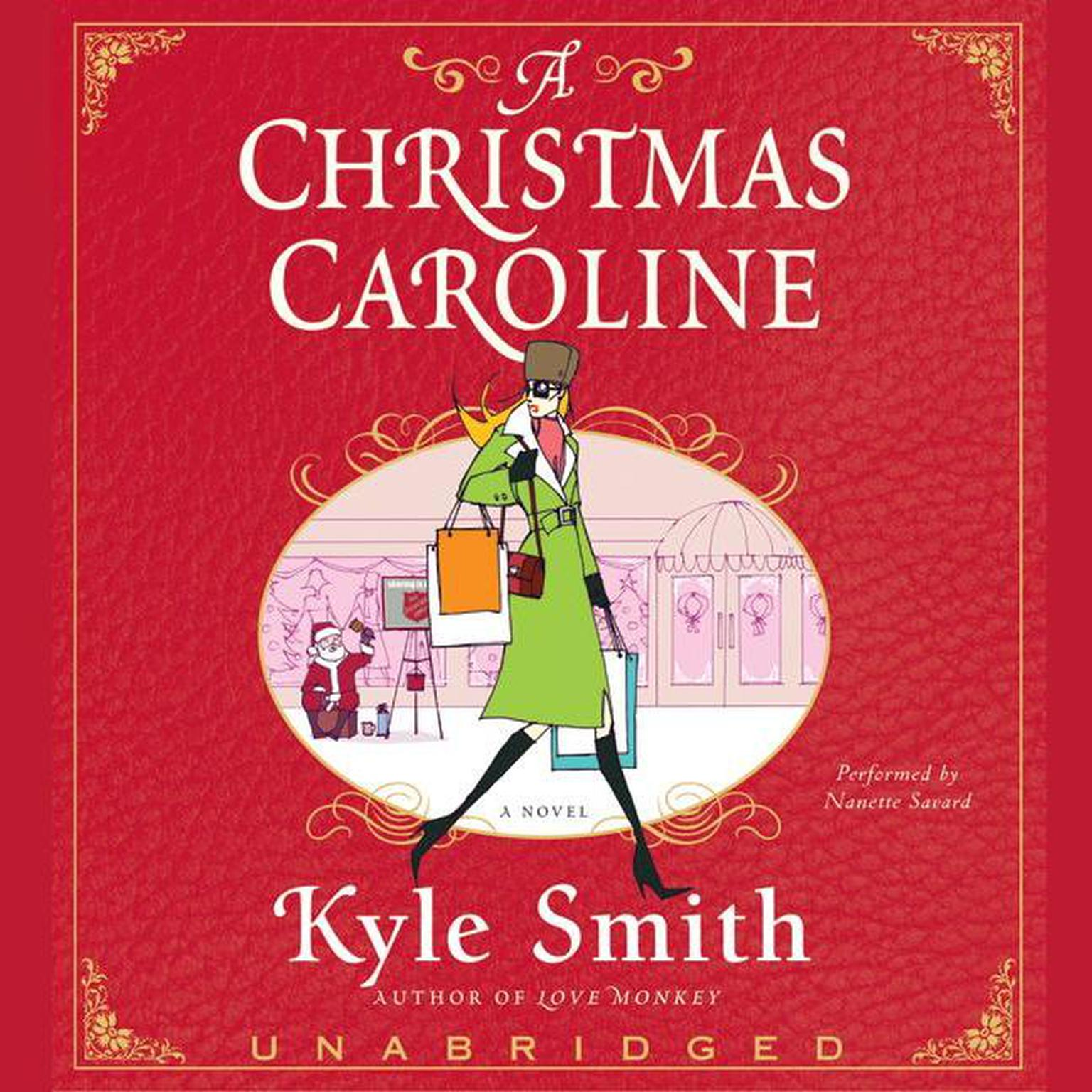 Printable A Christmas Caroline Audiobook Cover Art