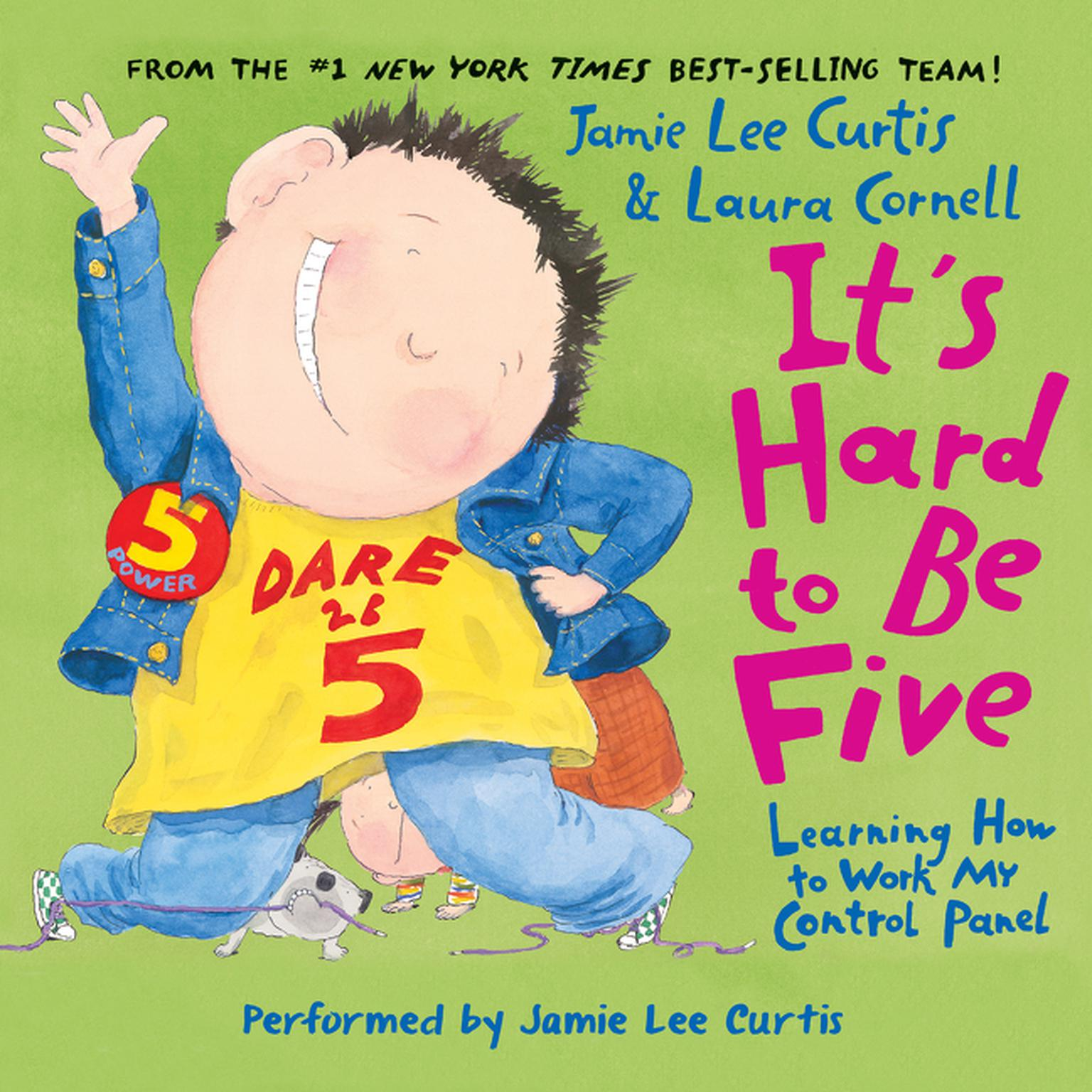 Printable It's Hard to Be Five: Learning How to Work My Control Panel Audiobook Cover Art