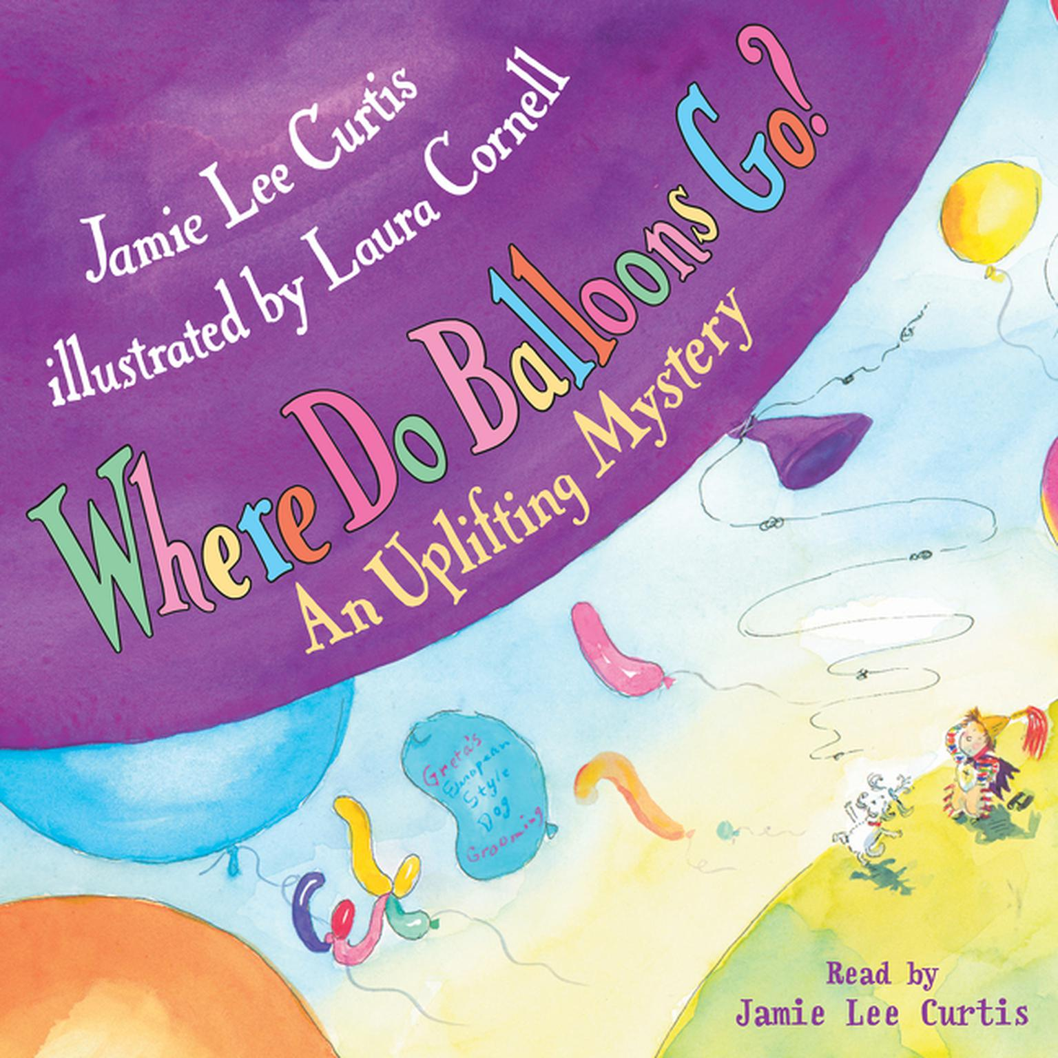 Printable Where Do Balloons Go? Audiobook Cover Art