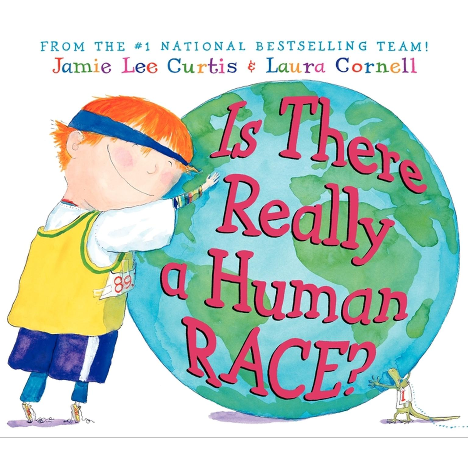 Printable Is There Really a Human Race? Audiobook Cover Art