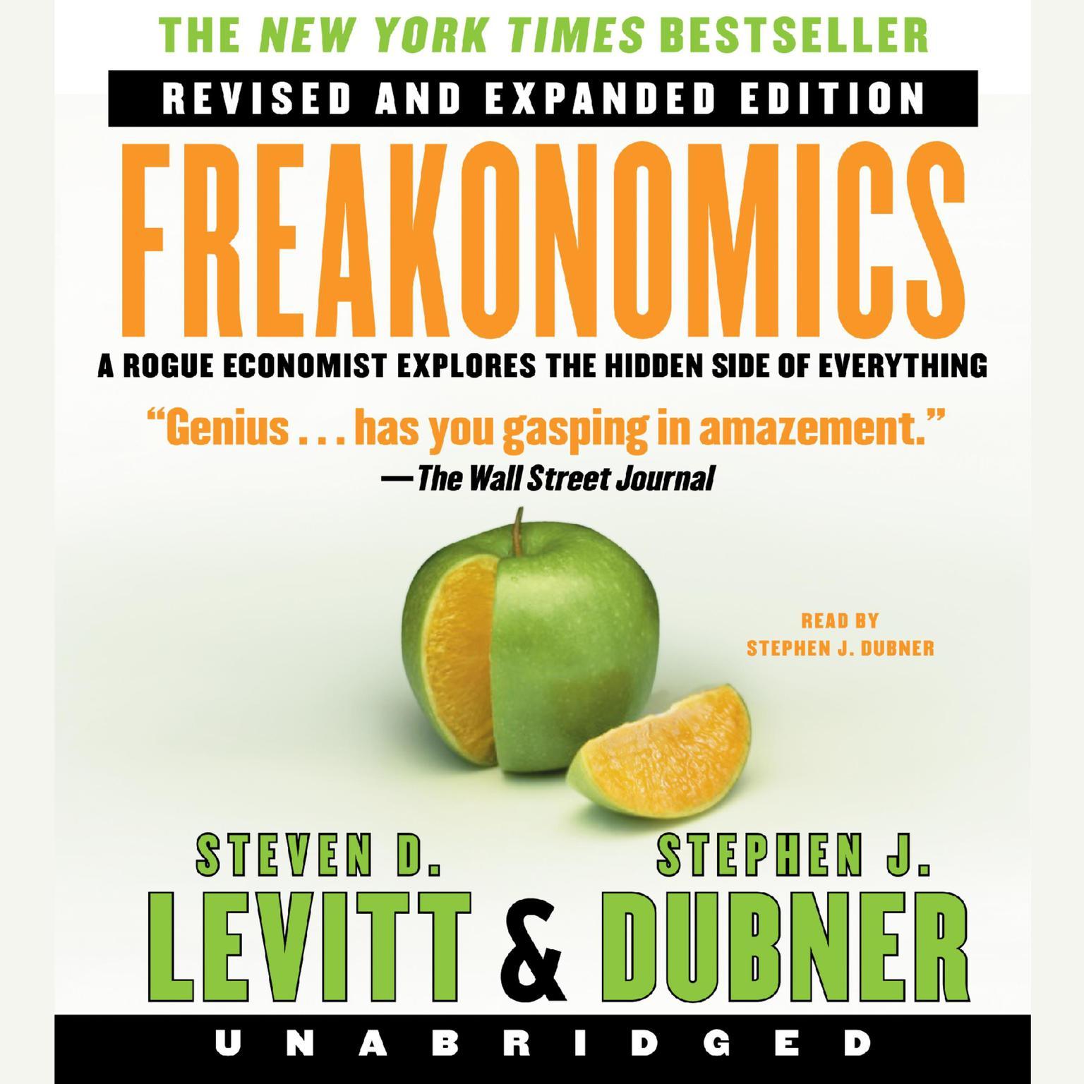 Printable Freakonomics Revised Audiobook Cover Art