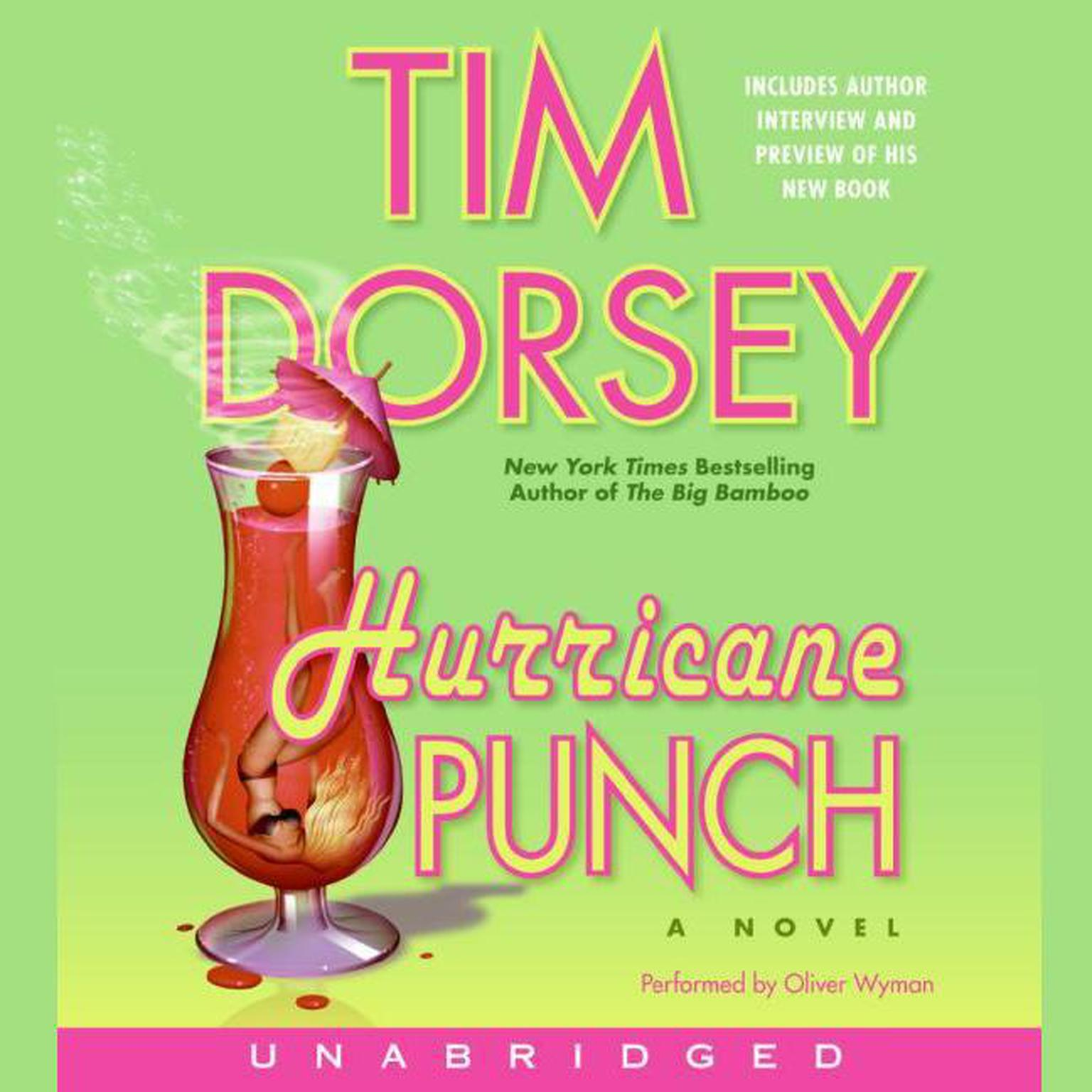 Printable Hurricane Punch Audiobook Cover Art