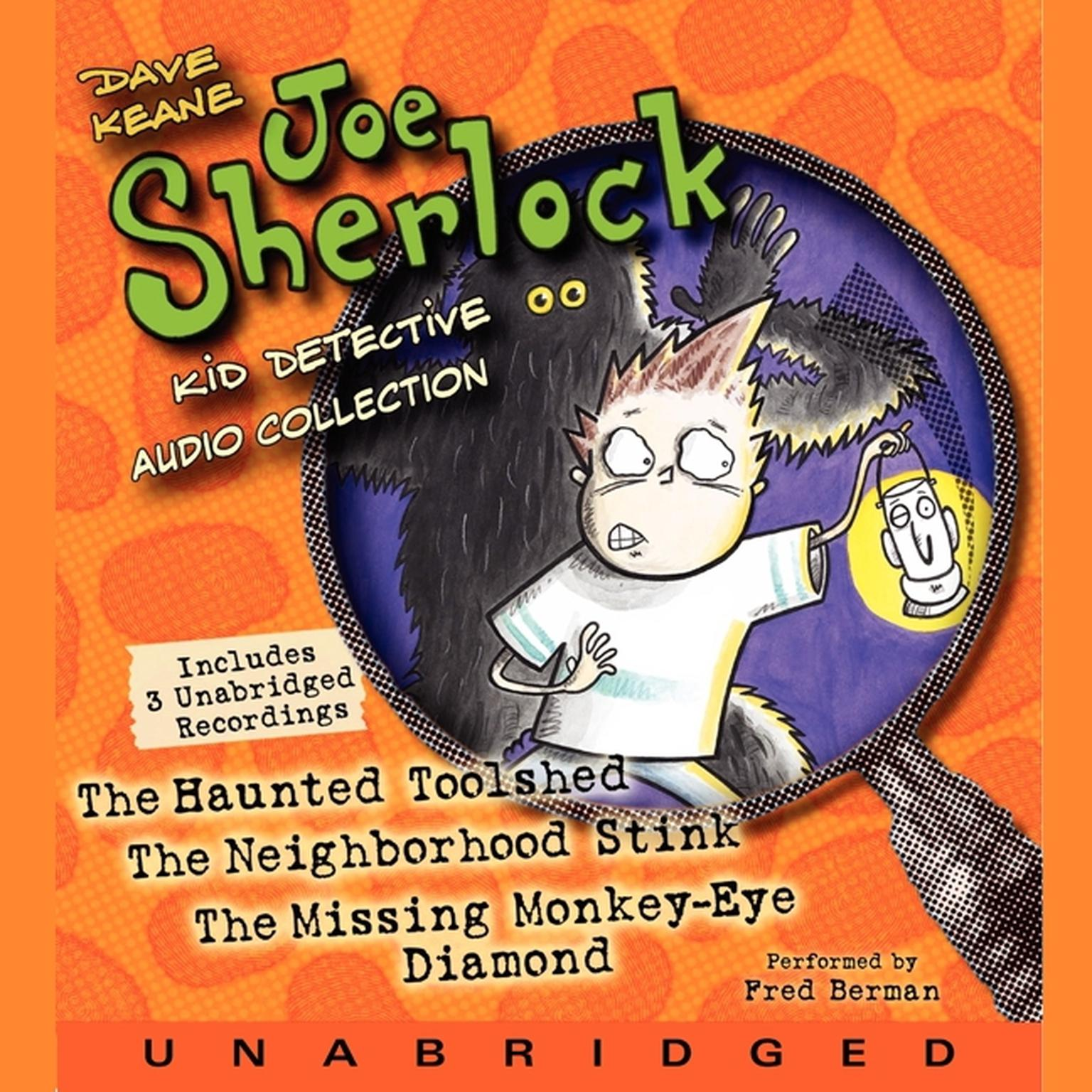 Printable Joe Sherlock, Kid Detective Audio Collection Audiobook Cover Art