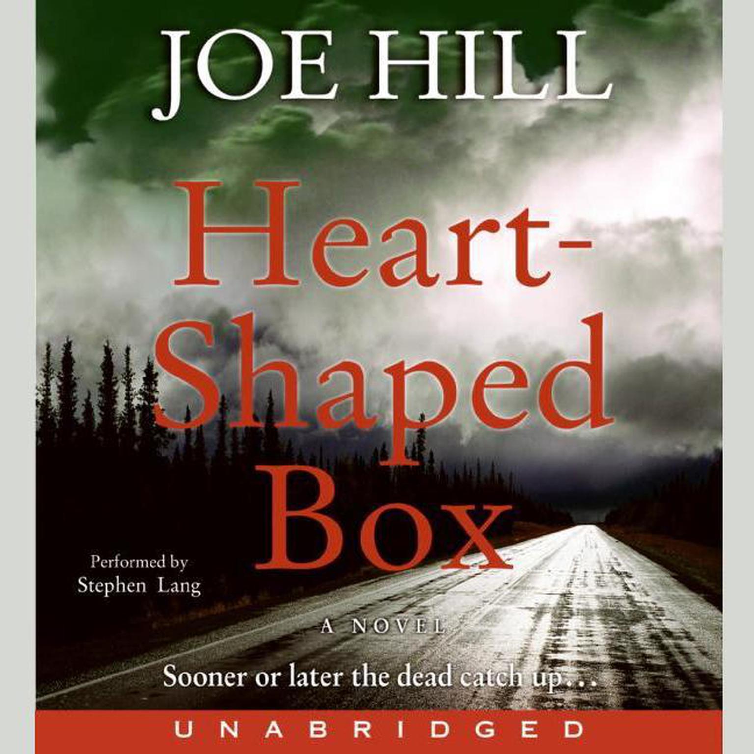 Printable Heart-Shaped Box Audiobook Cover Art