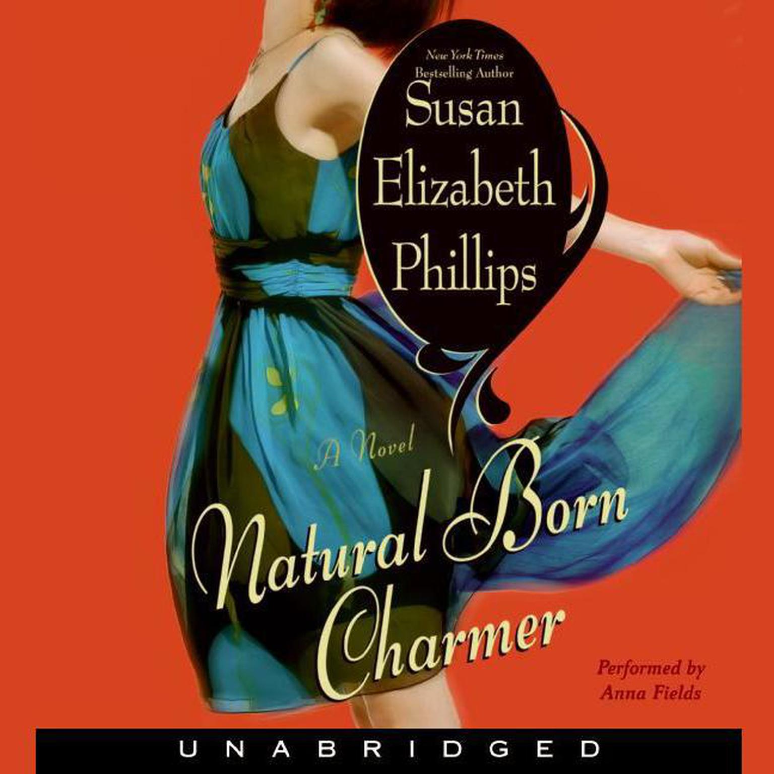 Printable Natural Born Charmer Audiobook Cover Art