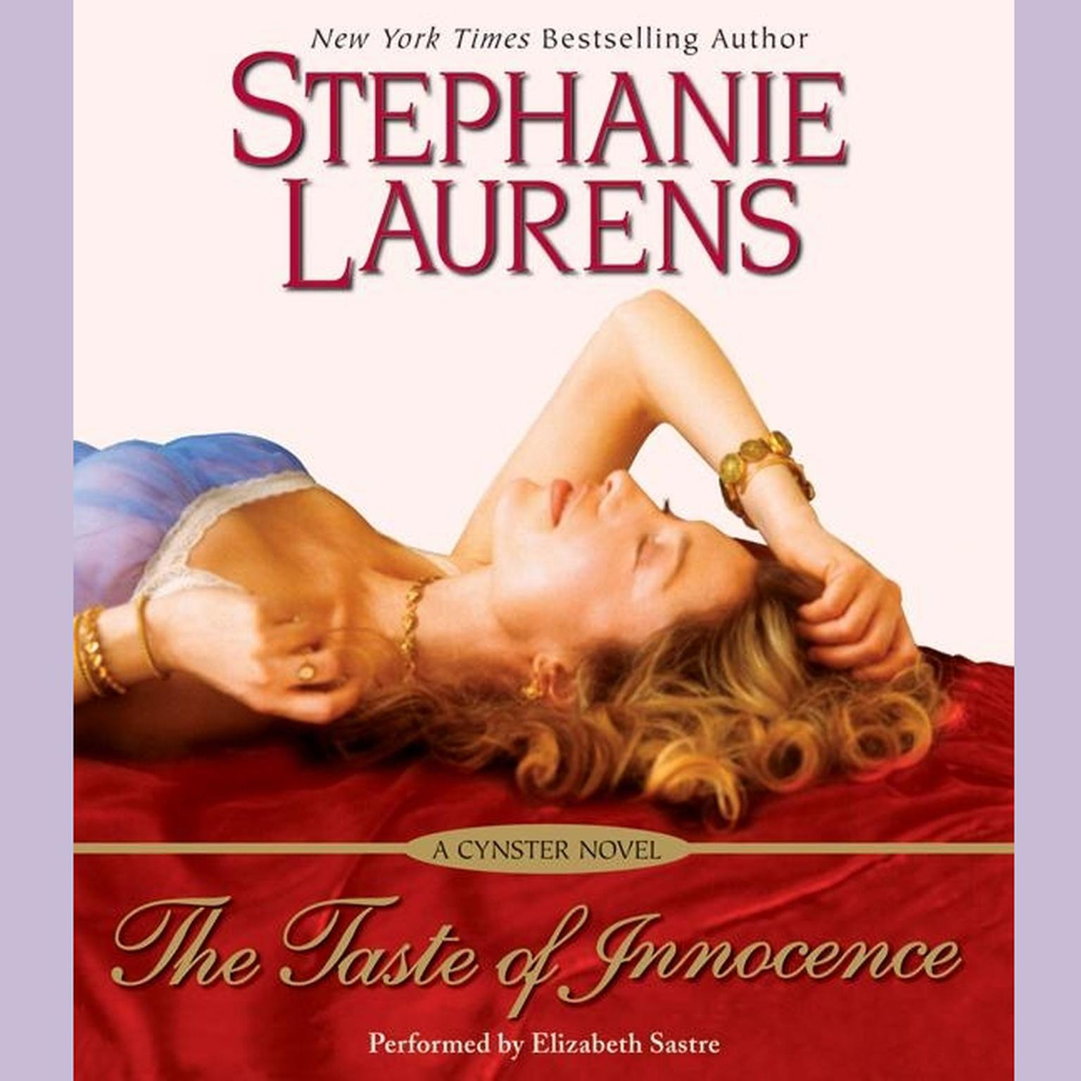 Printable The Taste of Innocence Audiobook Cover Art