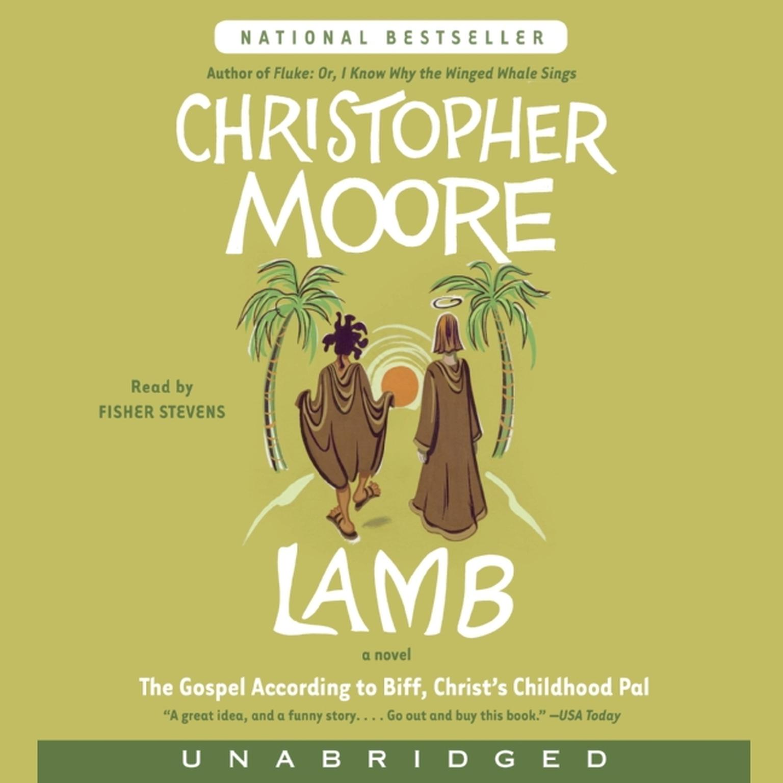 Printable Lamb: The Gospel According to Biff, Christ's Childhood Pal Audiobook Cover Art