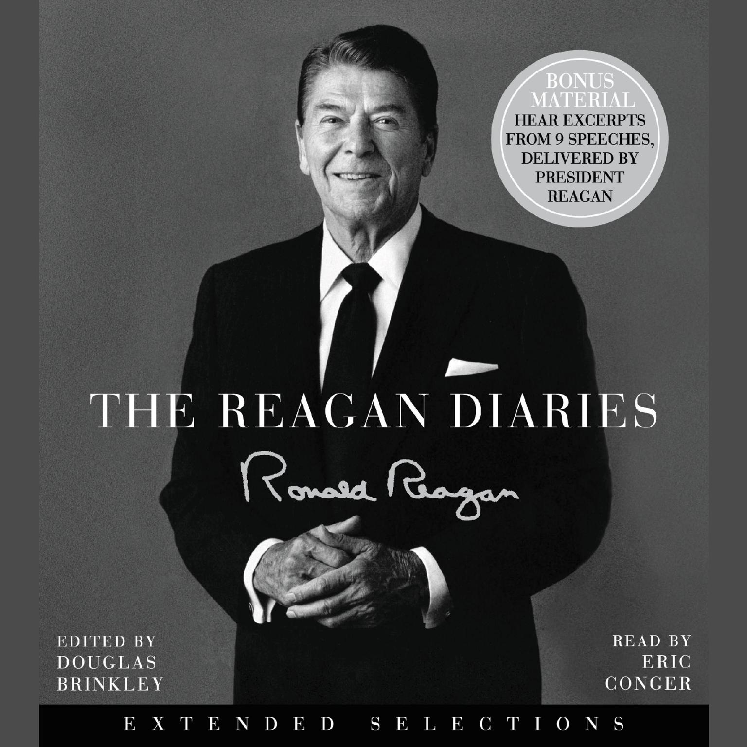 Printable The Reagan Diaries Audiobook Cover Art