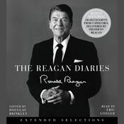 The Reagan Diaries Selections Audiobook, by Ronald Reagan