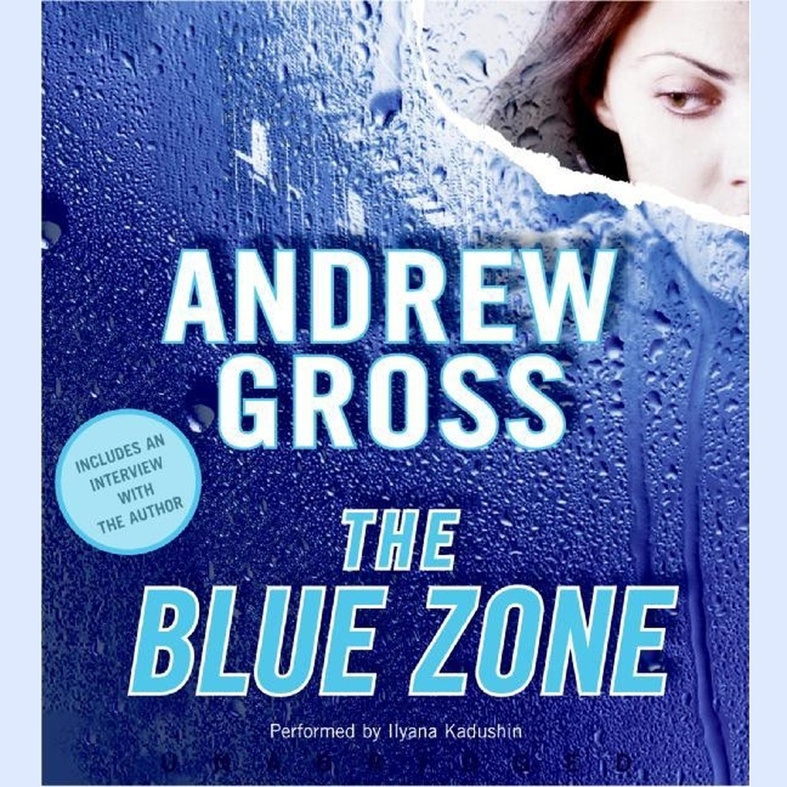 Printable The Blue Zone Audiobook Cover Art