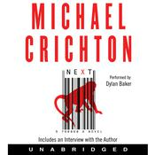 Next Audiobook, by Michael Crichton