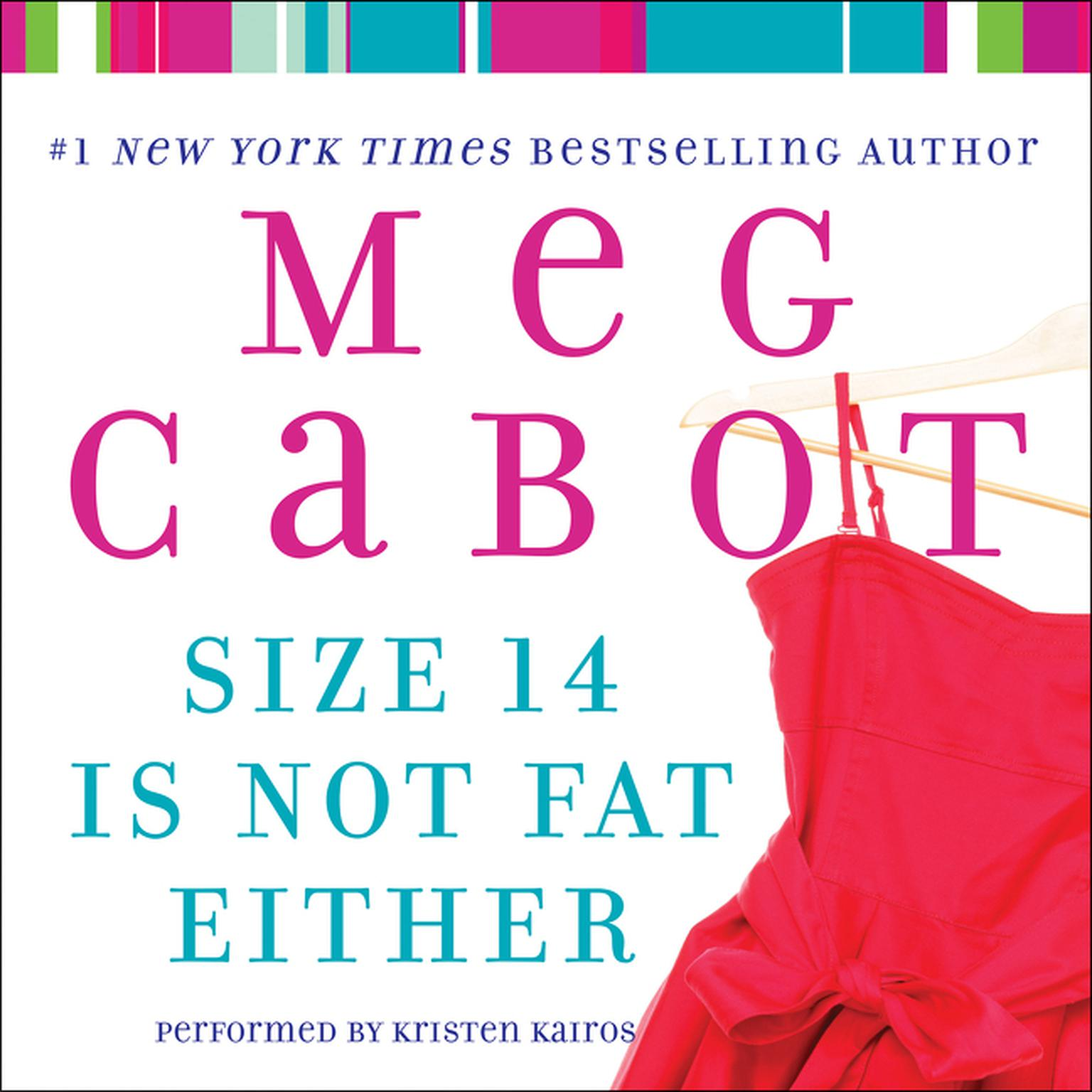 Printable Size 14 Is Not Fat Either Audiobook Cover Art