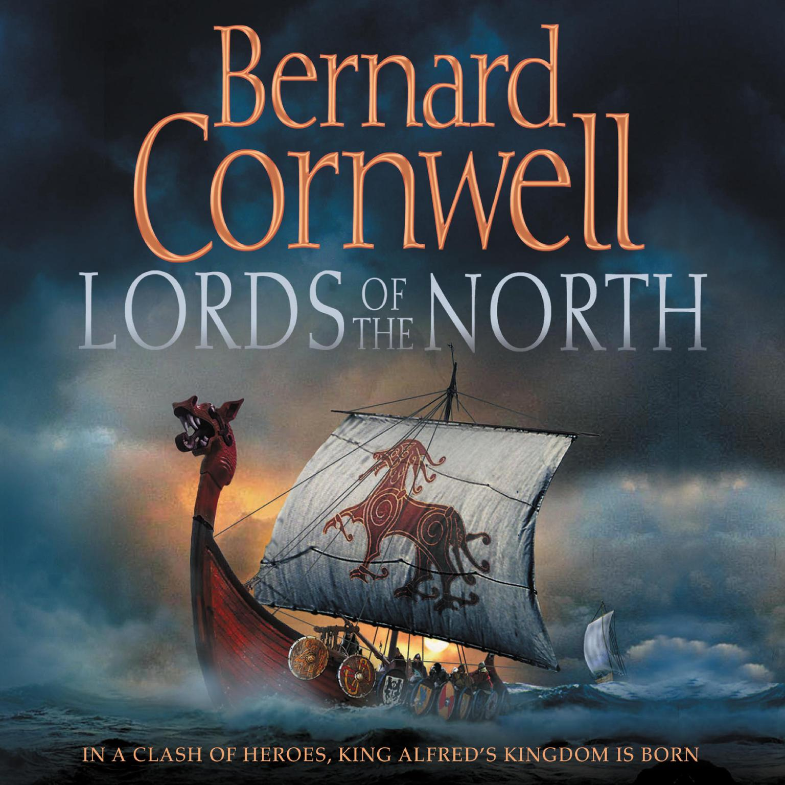 Printable Lords of the North Audiobook Cover Art