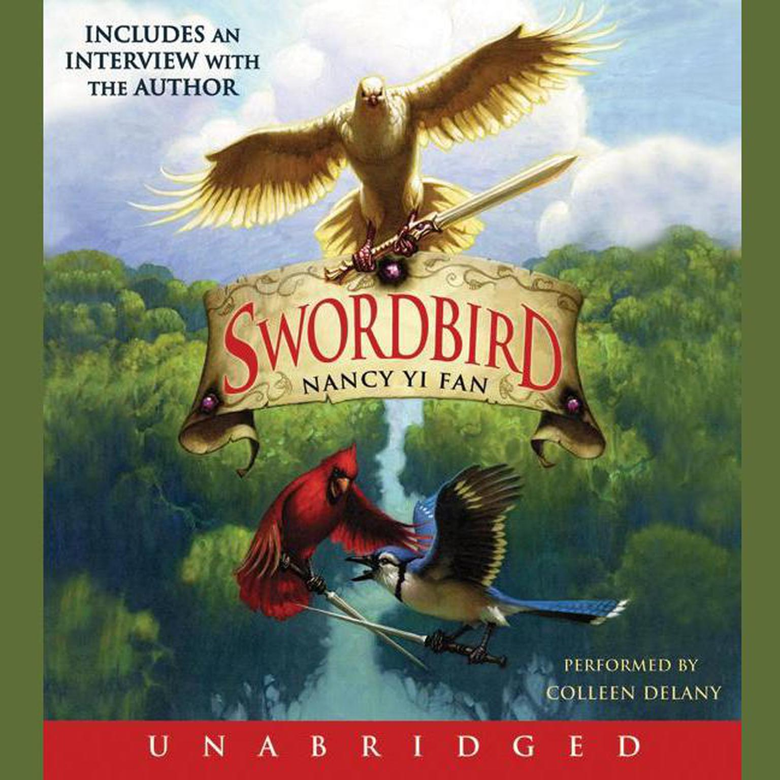 Printable Swordbird Audiobook Cover Art