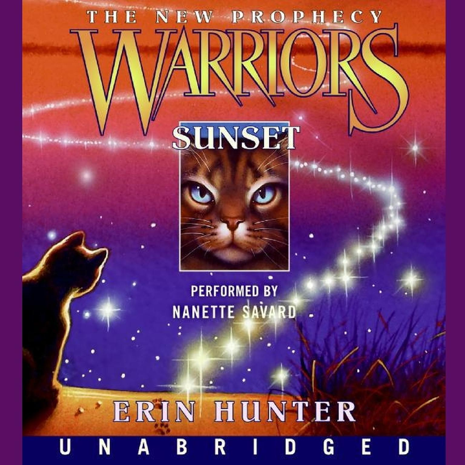 Printable Warriors: The New Prophecy #6: Sunset Audiobook Cover Art
