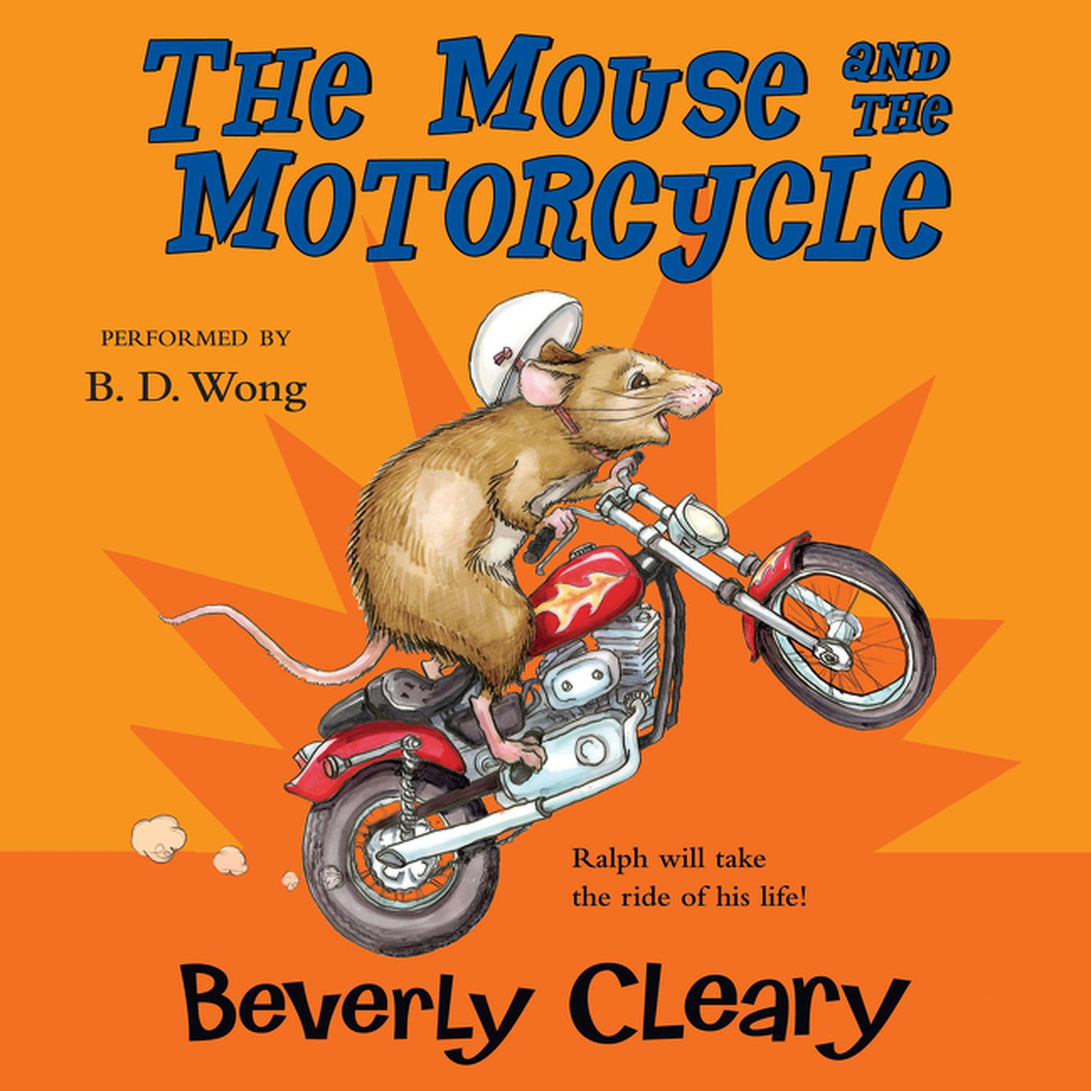 Printable The Mouse and the Motorcycle Audiobook Cover Art