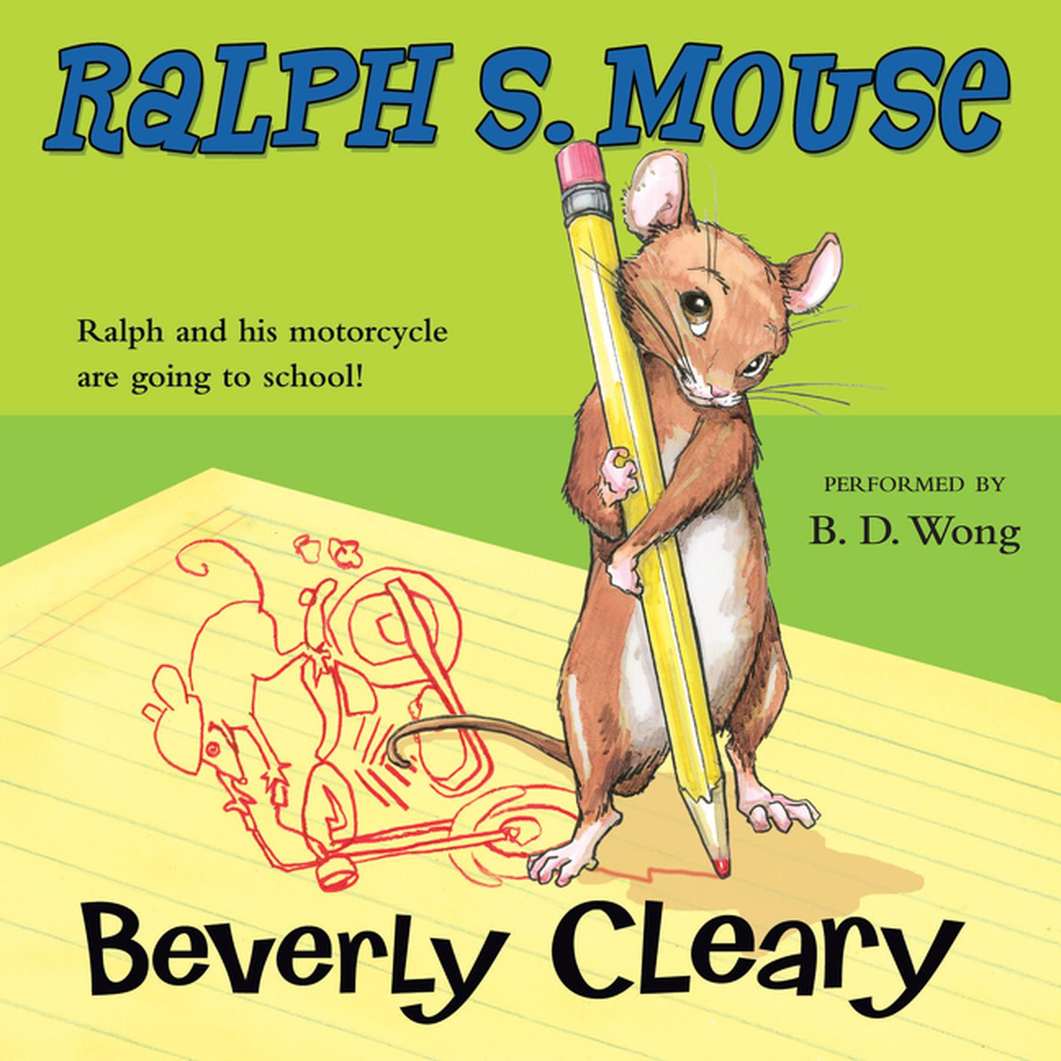 Printable Ralph S. Mouse Audiobook Cover Art