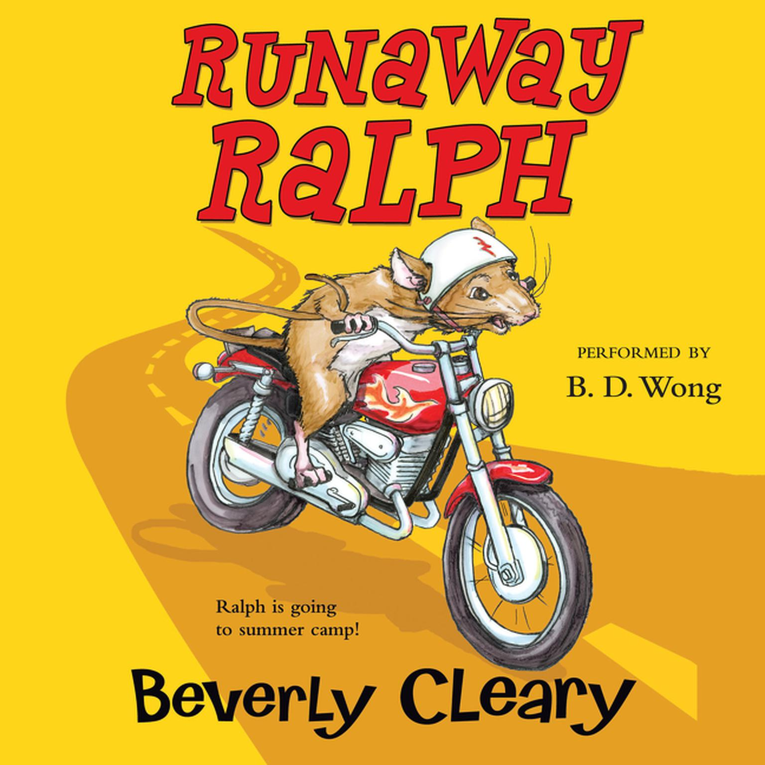 Printable Runaway Ralph Audiobook Cover Art