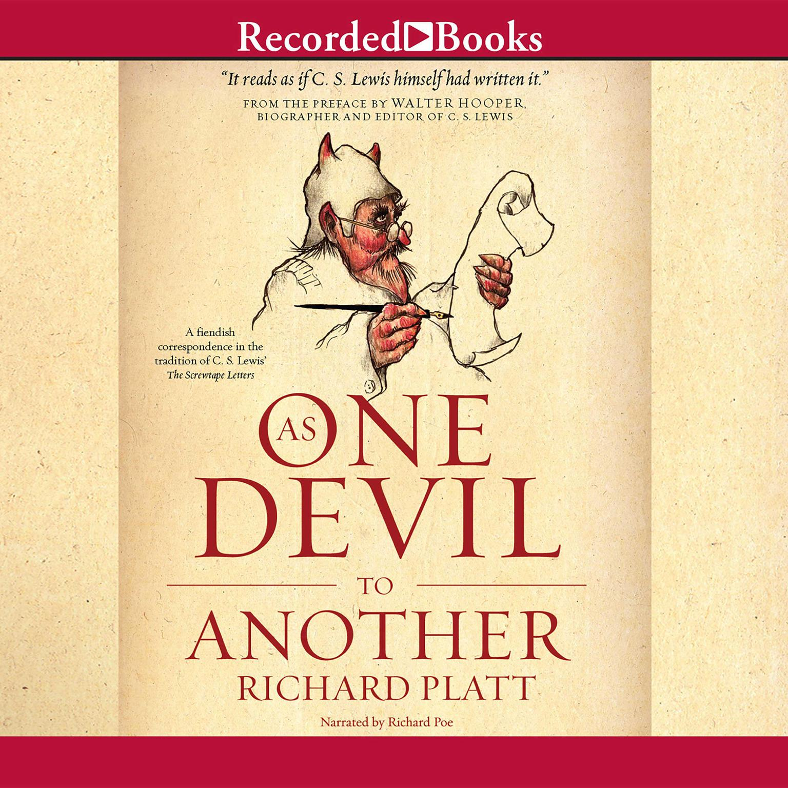 Printable As One Devil to Another Audiobook Cover Art