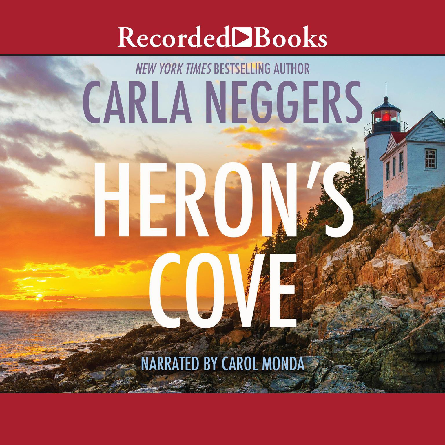 Printable Heron's Cove Audiobook Cover Art