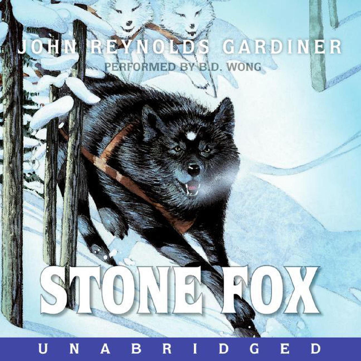 Printable Stone Fox Audiobook Cover Art