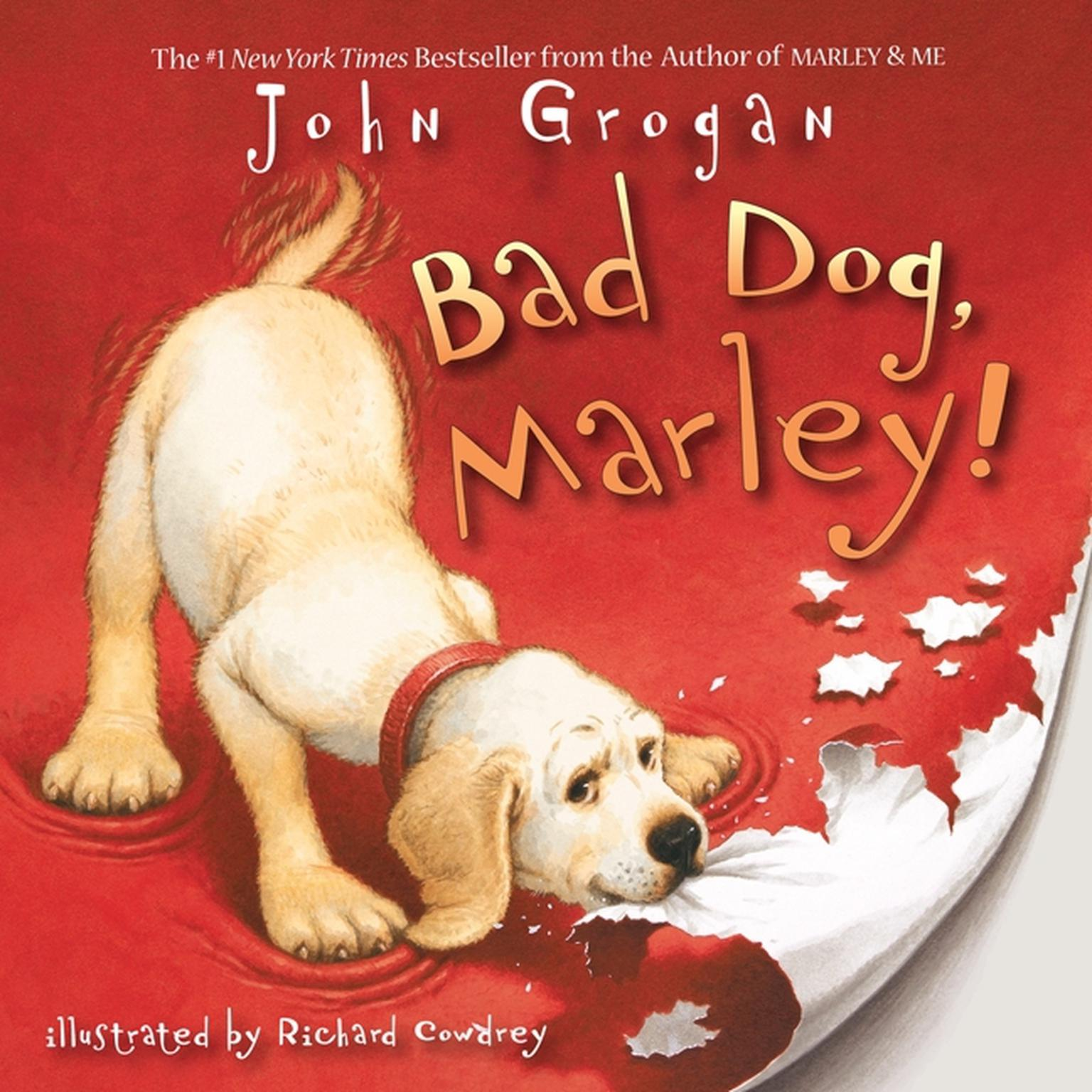 Printable Bad Dog, Marley! Audiobook Cover Art