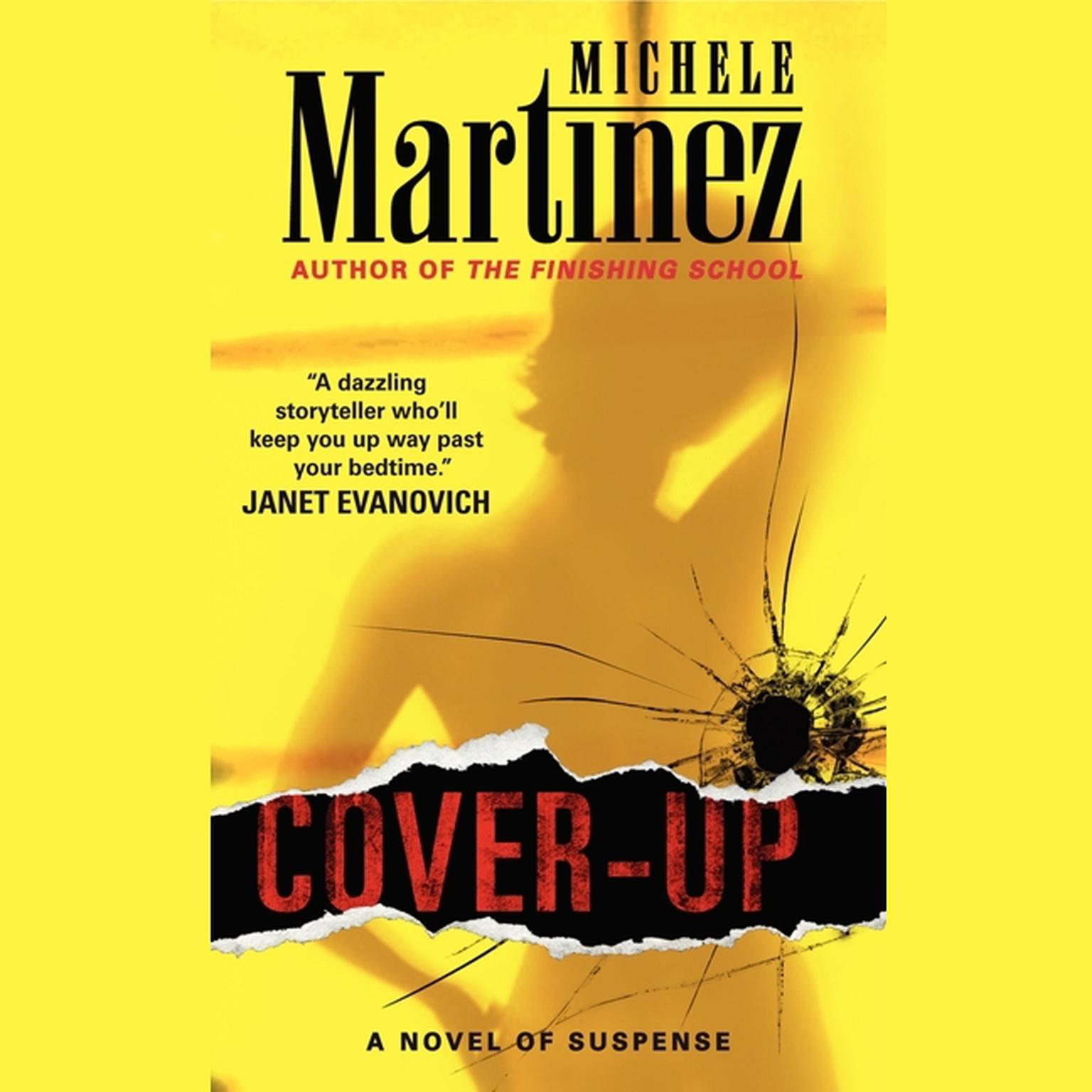 Printable Cover-up Audiobook Cover Art
