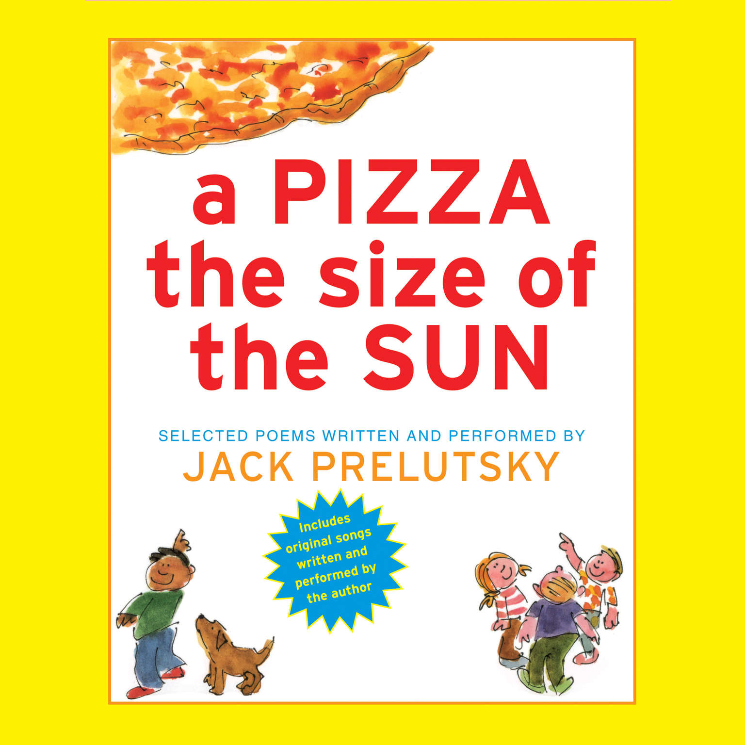 Printable A Pizza The Size of The Sun Audiobook Cover Art