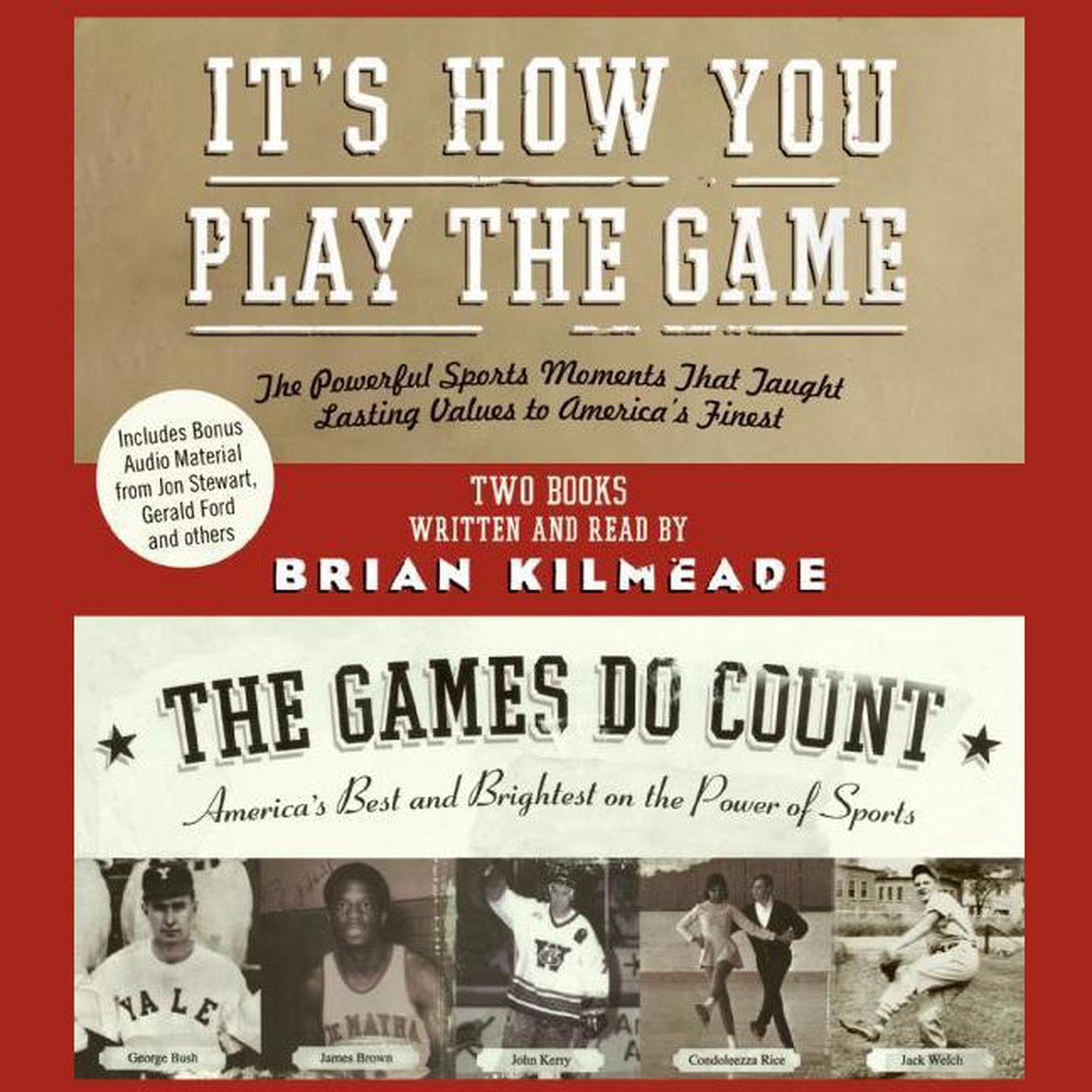 Printable It's How You Play the Game and The Games Do Count Audiobook Cover Art