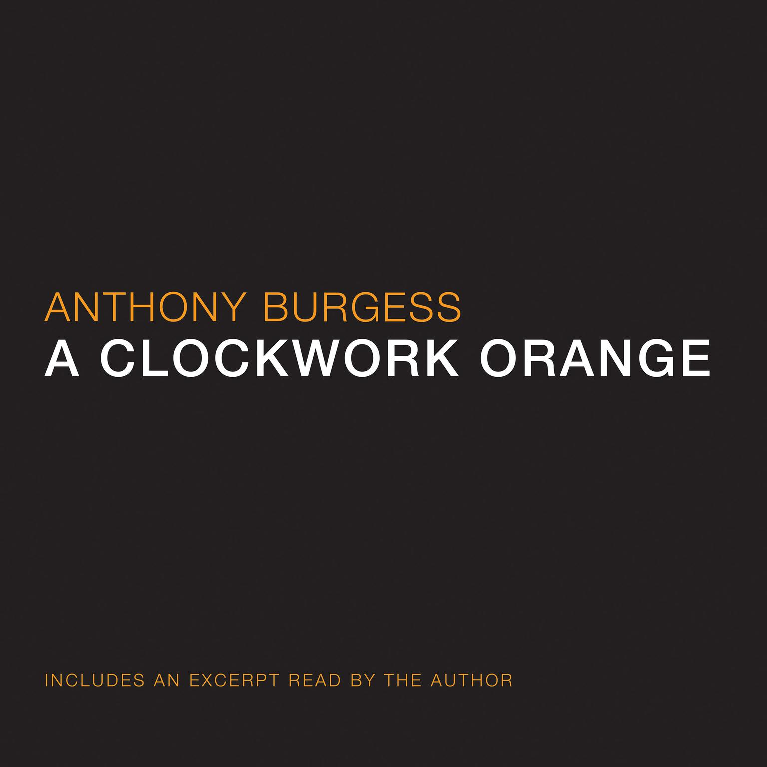 Printable A Clockwork Orange Audiobook Cover Art