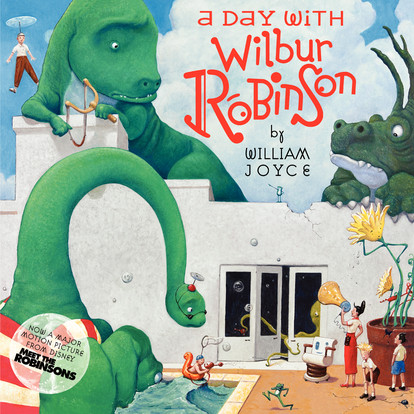 Printable A Day with Wilbur Robinson Audiobook Cover Art