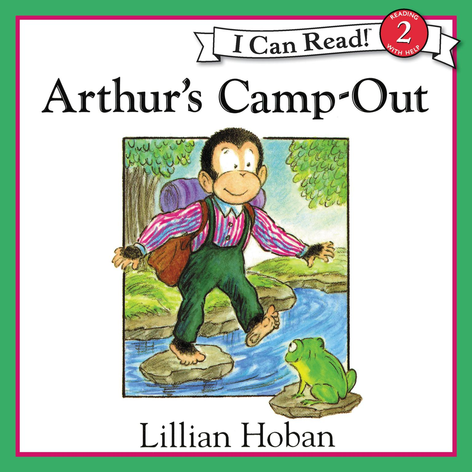Printable Arthur's Camp-Out Audiobook Cover Art