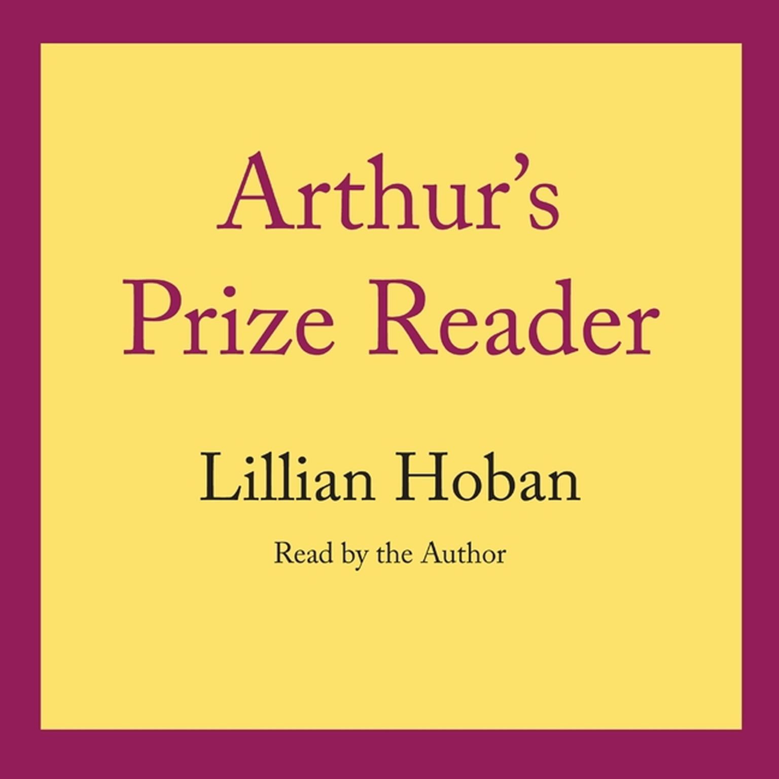 Printable Arthur's Prize Reader Audiobook Cover Art