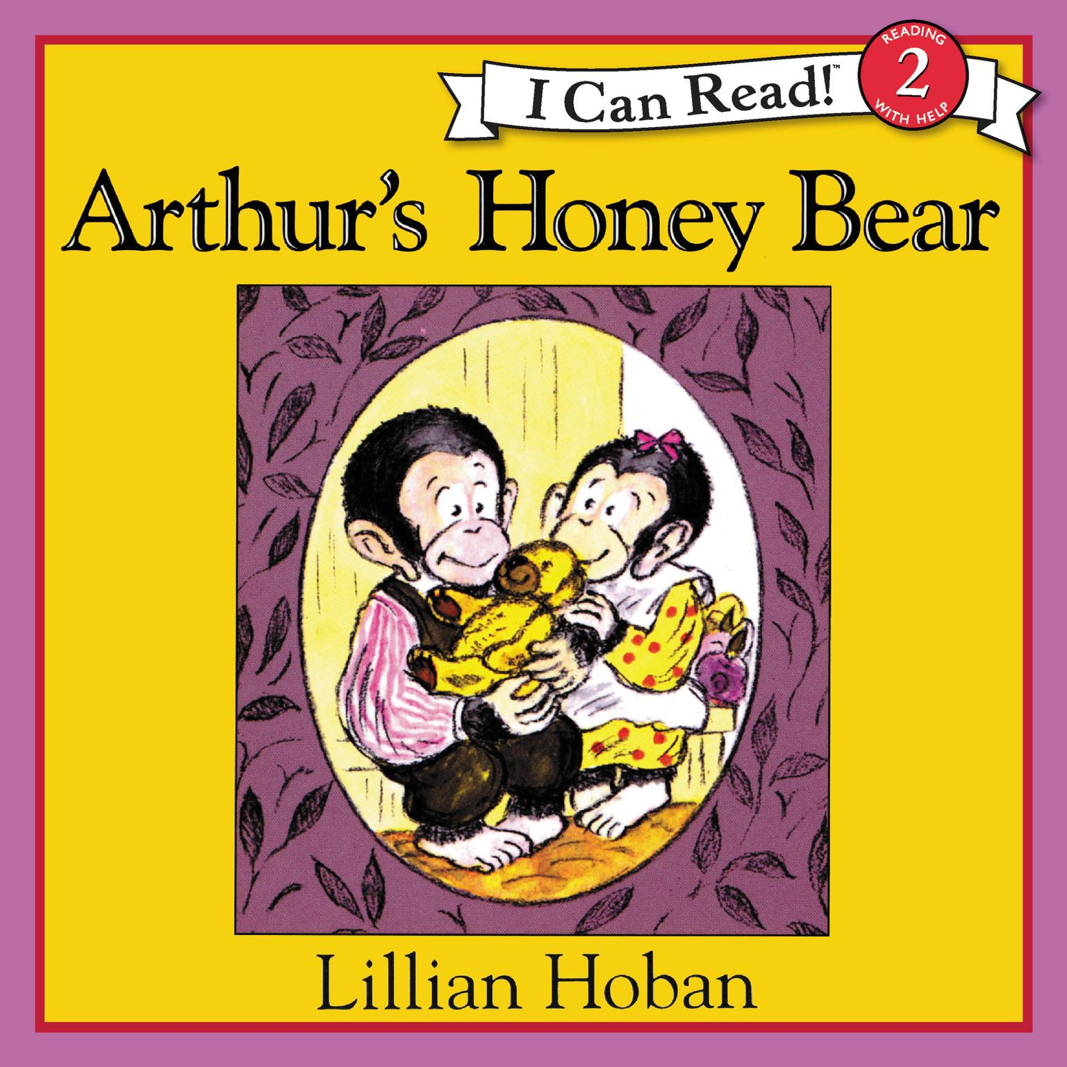 Printable Arthur's Honey Bear Audiobook Cover Art