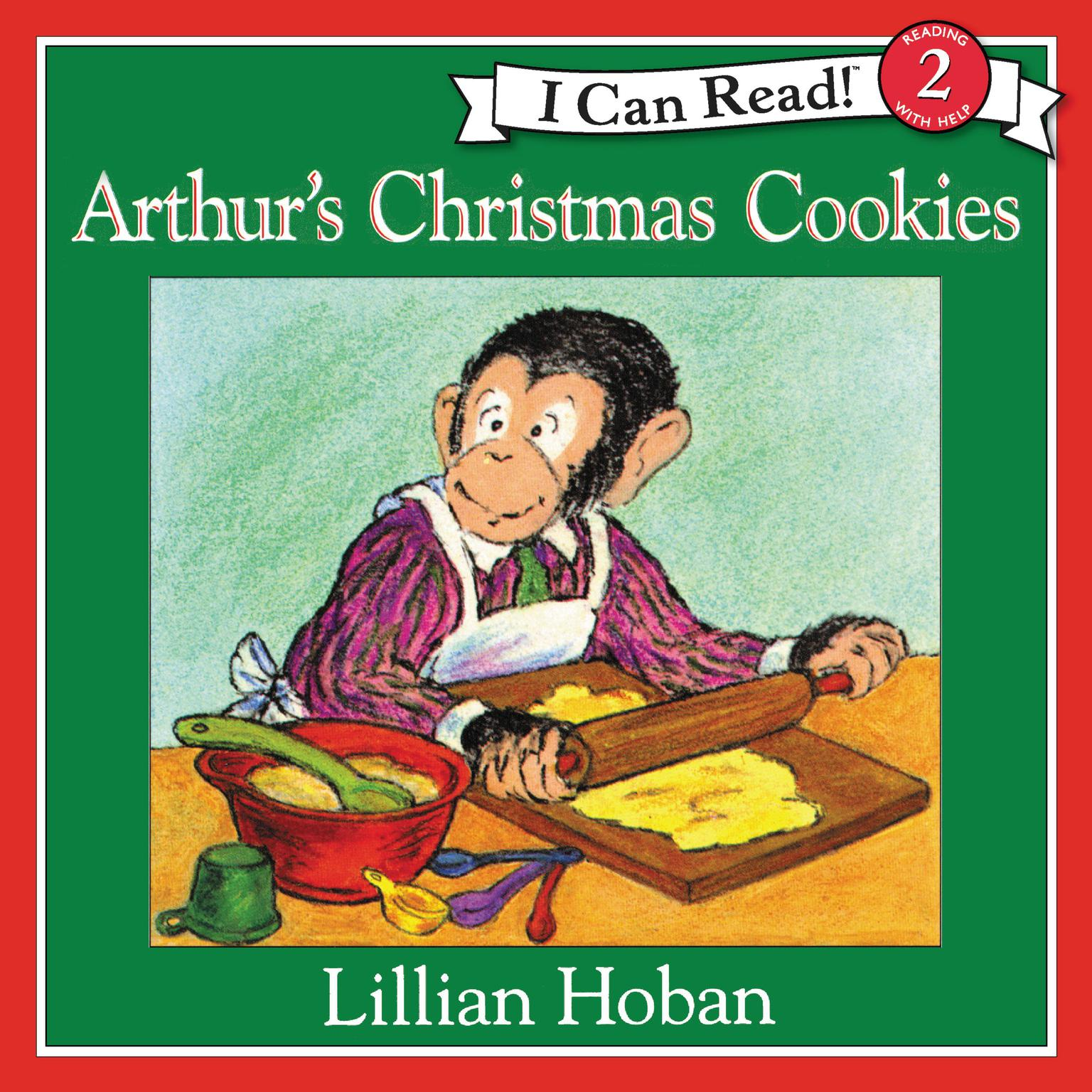 Printable Arthur's Christmas Cookies Audiobook Cover Art
