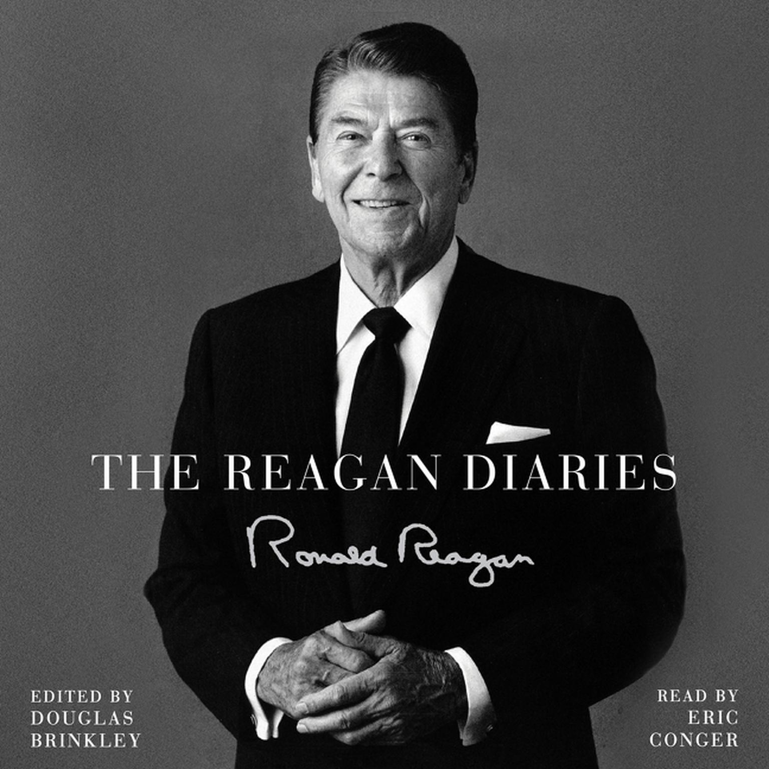 Printable The Reagan Diaries: Selections Audiobook Cover Art