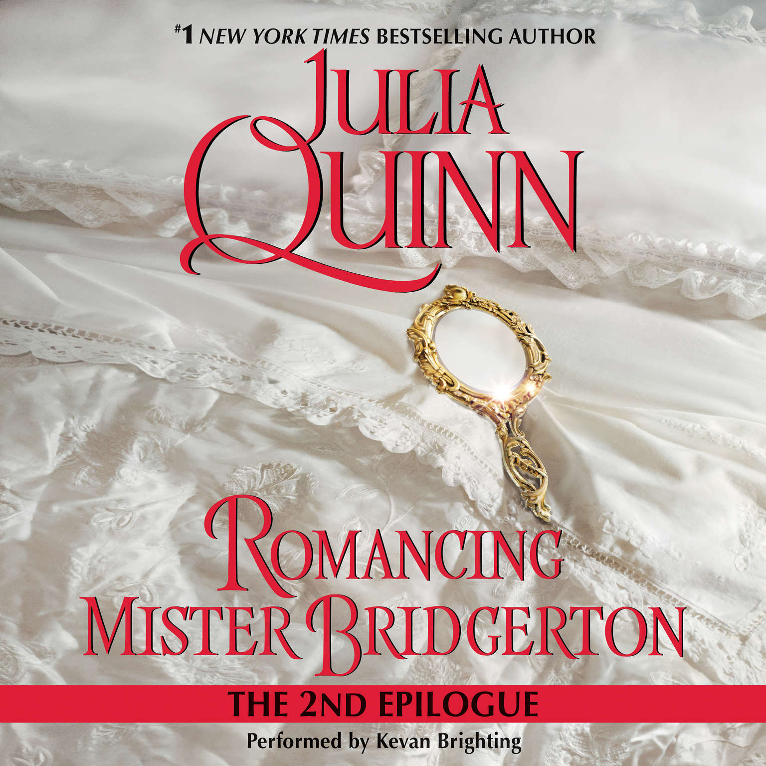 Printable Romancing Mister Bridgerton: The Epilogue II Audiobook Cover Art