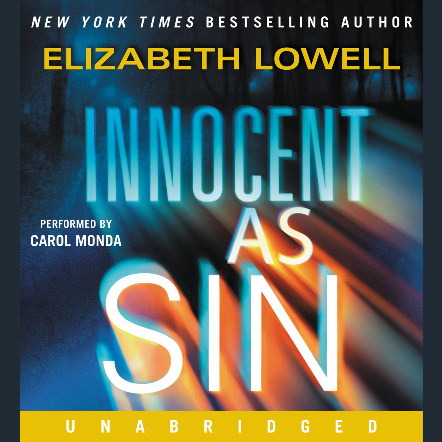 Printable Innocent as Sin Audiobook Cover Art