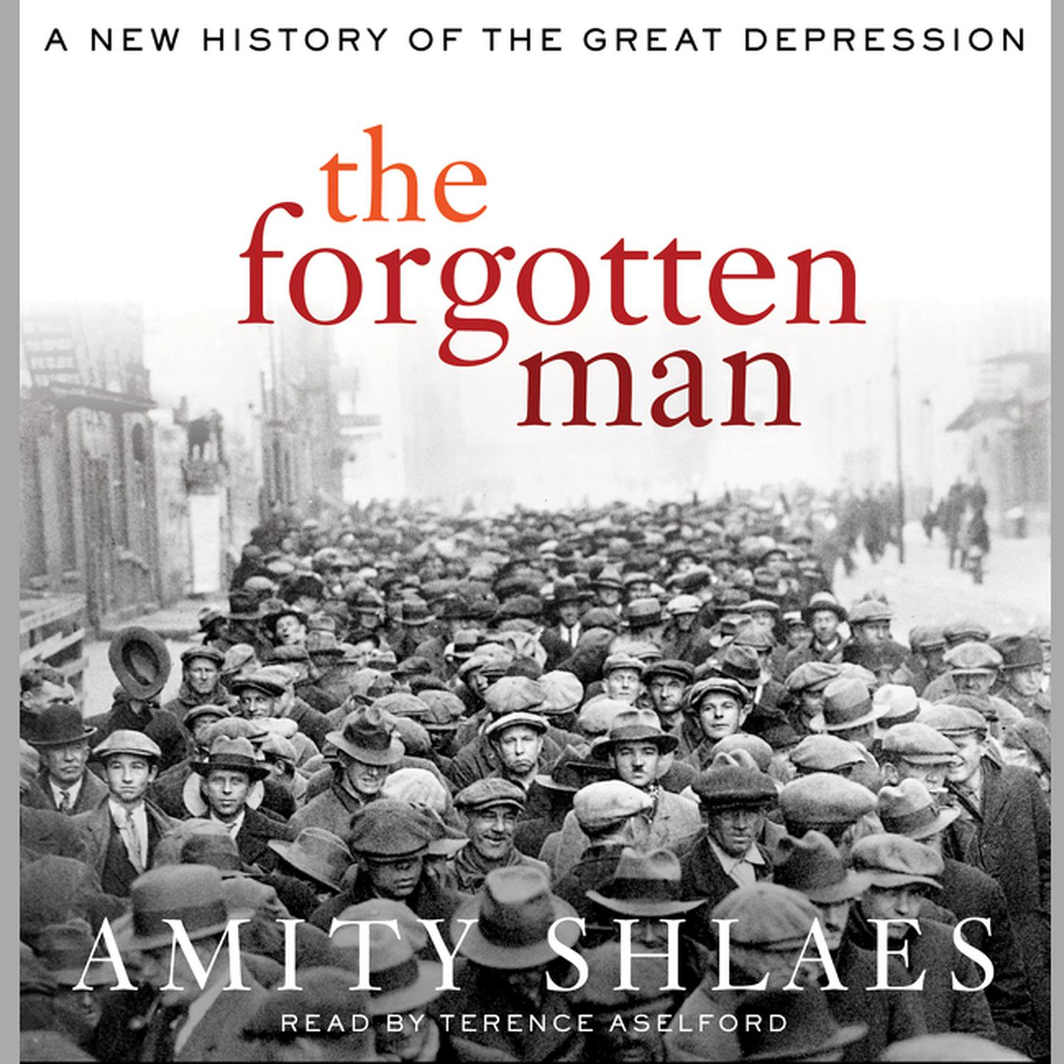 Printable The Forgotten Man: A New History of the Great Depression Audiobook Cover Art