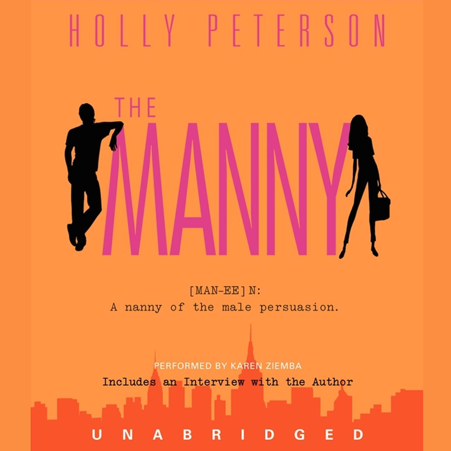 Printable The Manny Audiobook Cover Art