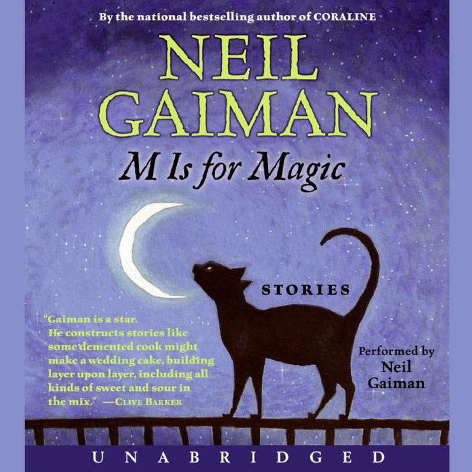 Printable M Is for Magic Audiobook Cover Art