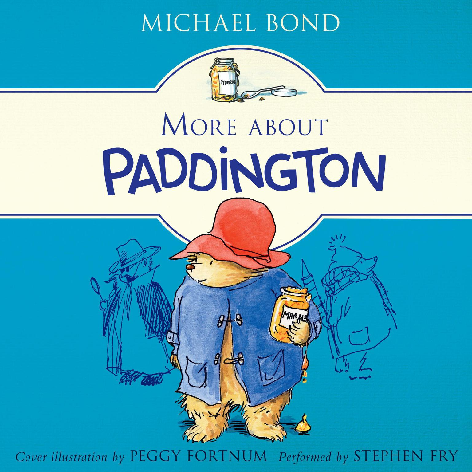 Printable More About Paddington Audiobook Cover Art