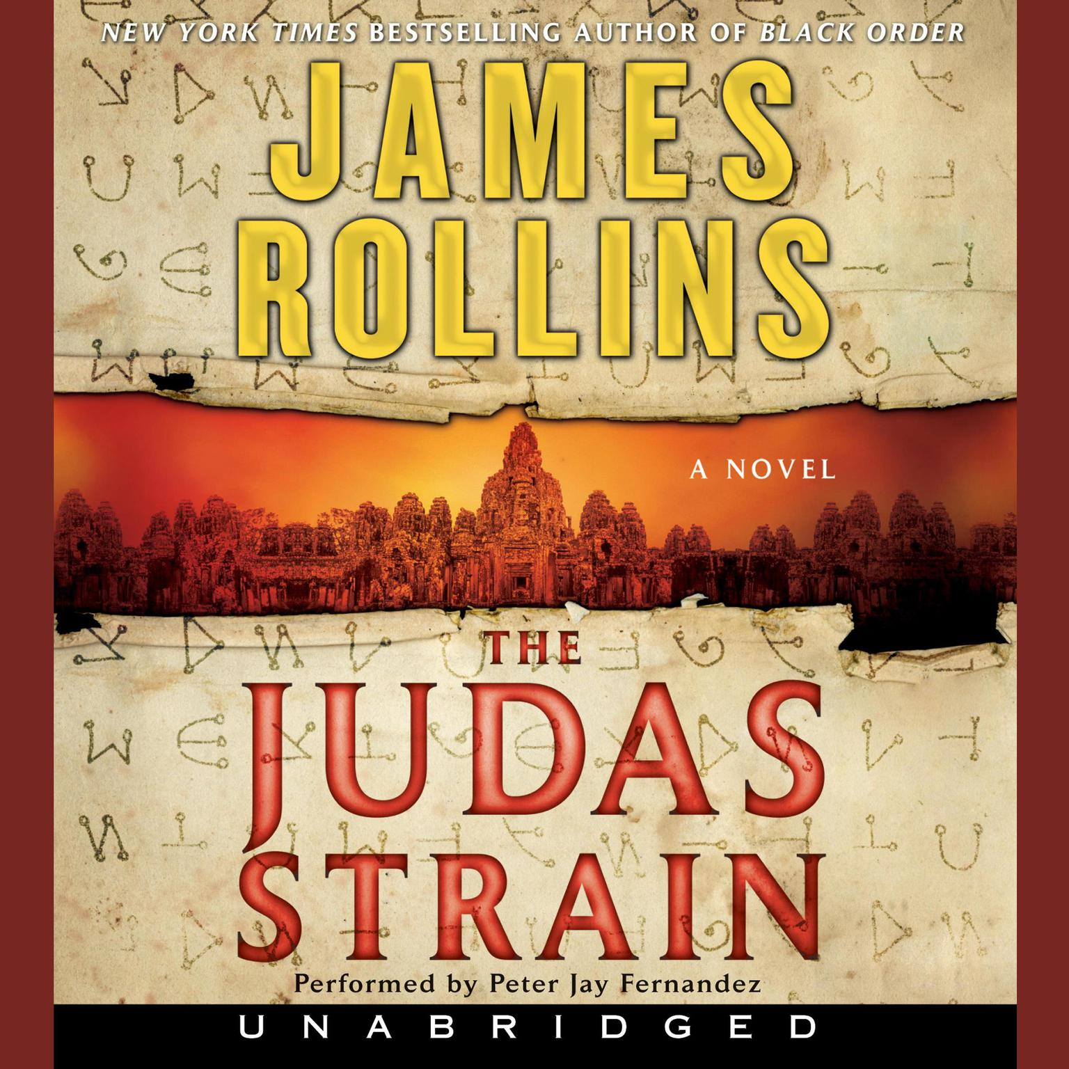 Printable The Judas Strain: A Sigma Force Novel Audiobook Cover Art
